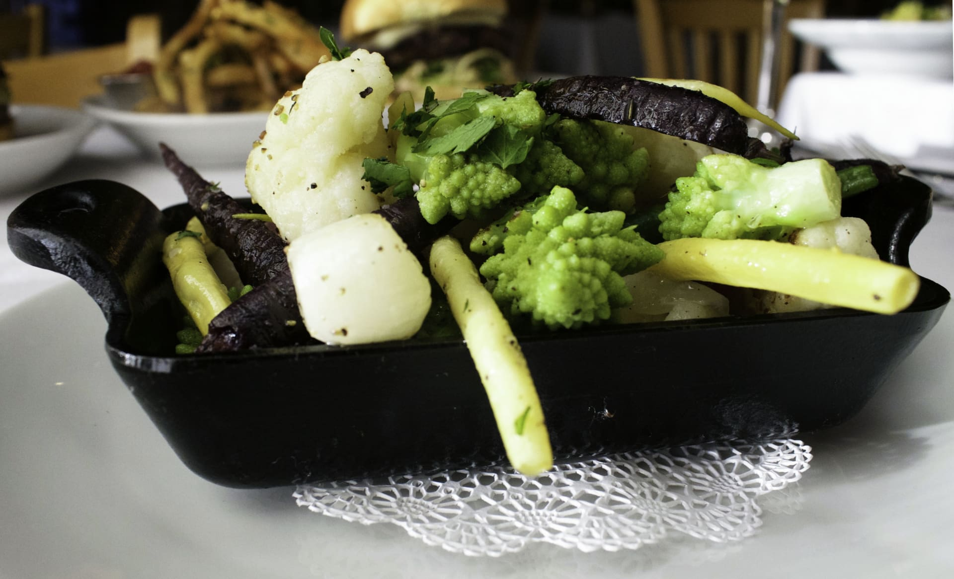 Skillet of Seasonal Vegetables