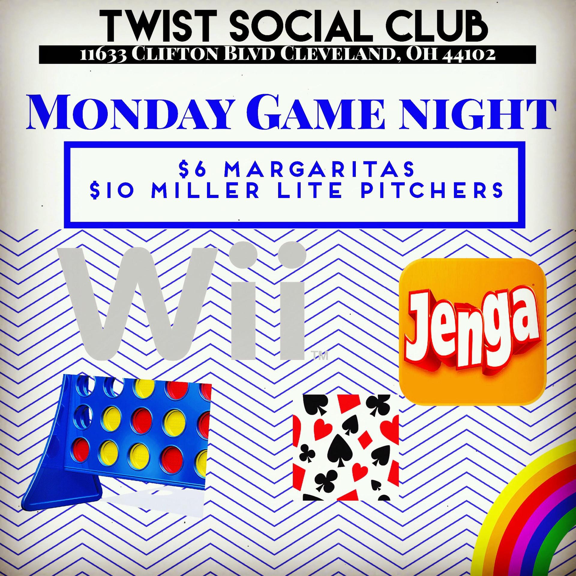 Monday - Game Night