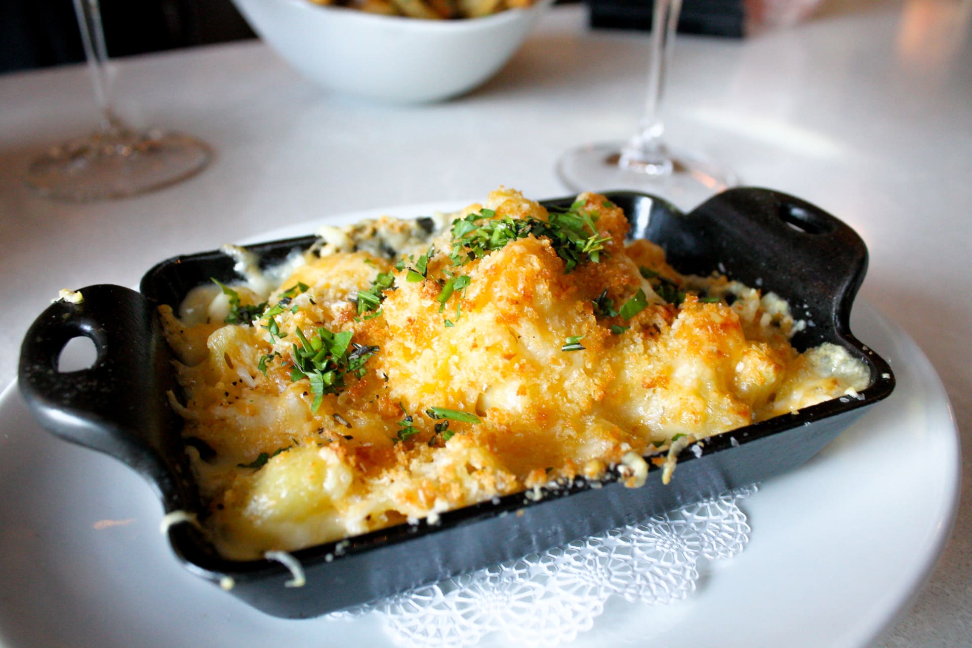 Skillet of Mac & Cheese