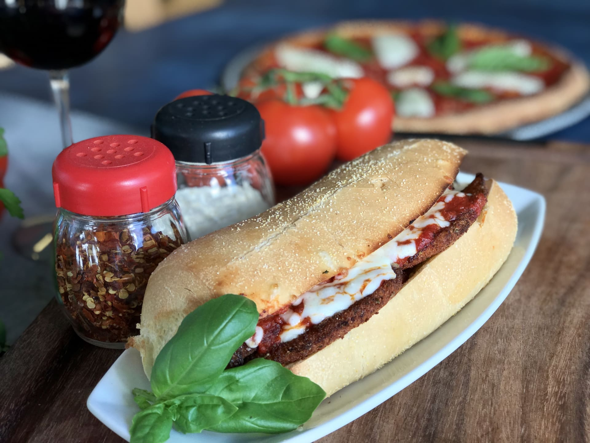Chicken Parmesan Sandwich