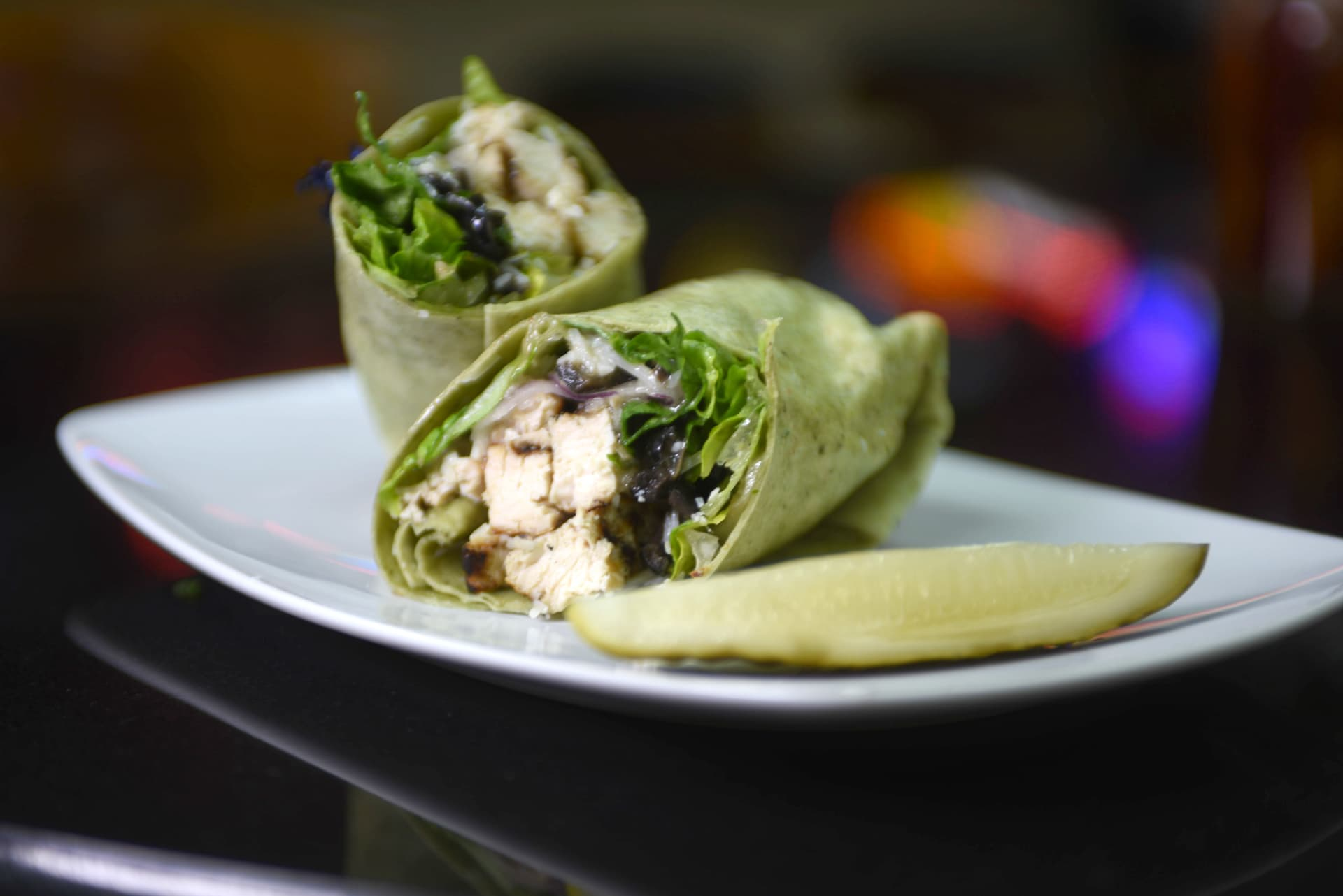 Chicken Caesar Wrap