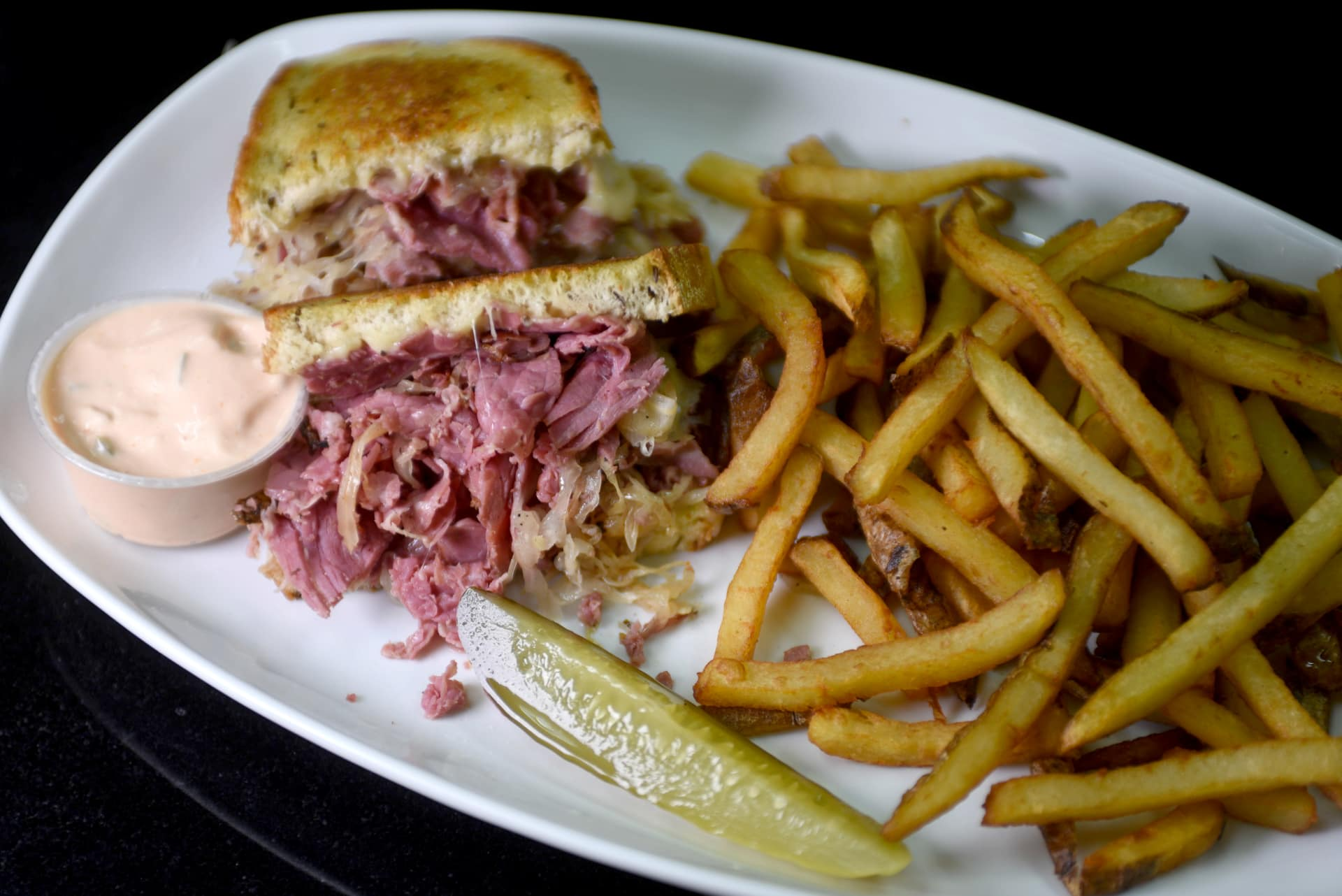 Reuben & French Fries