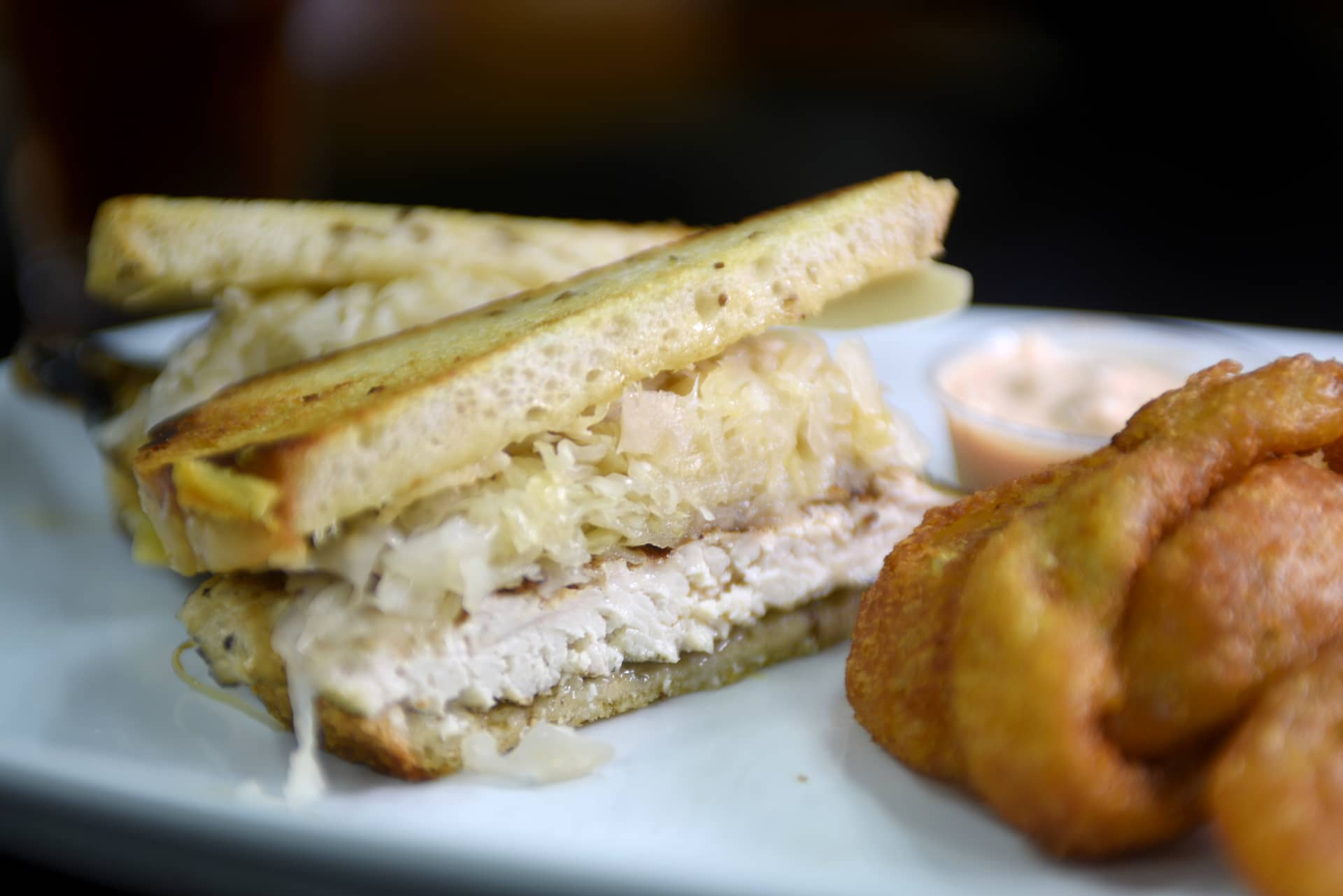 Turkey Reuben & French Fries