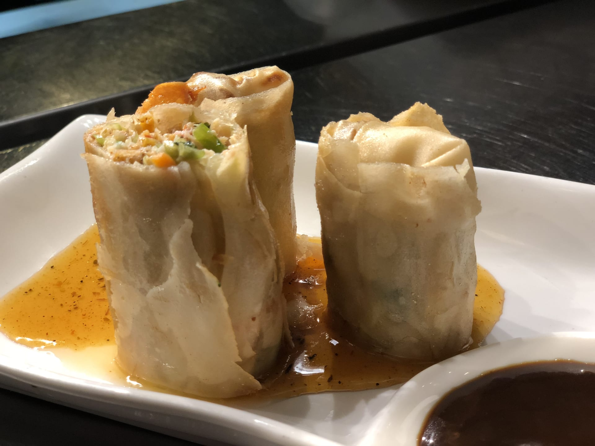 Seafood Spring Rolls