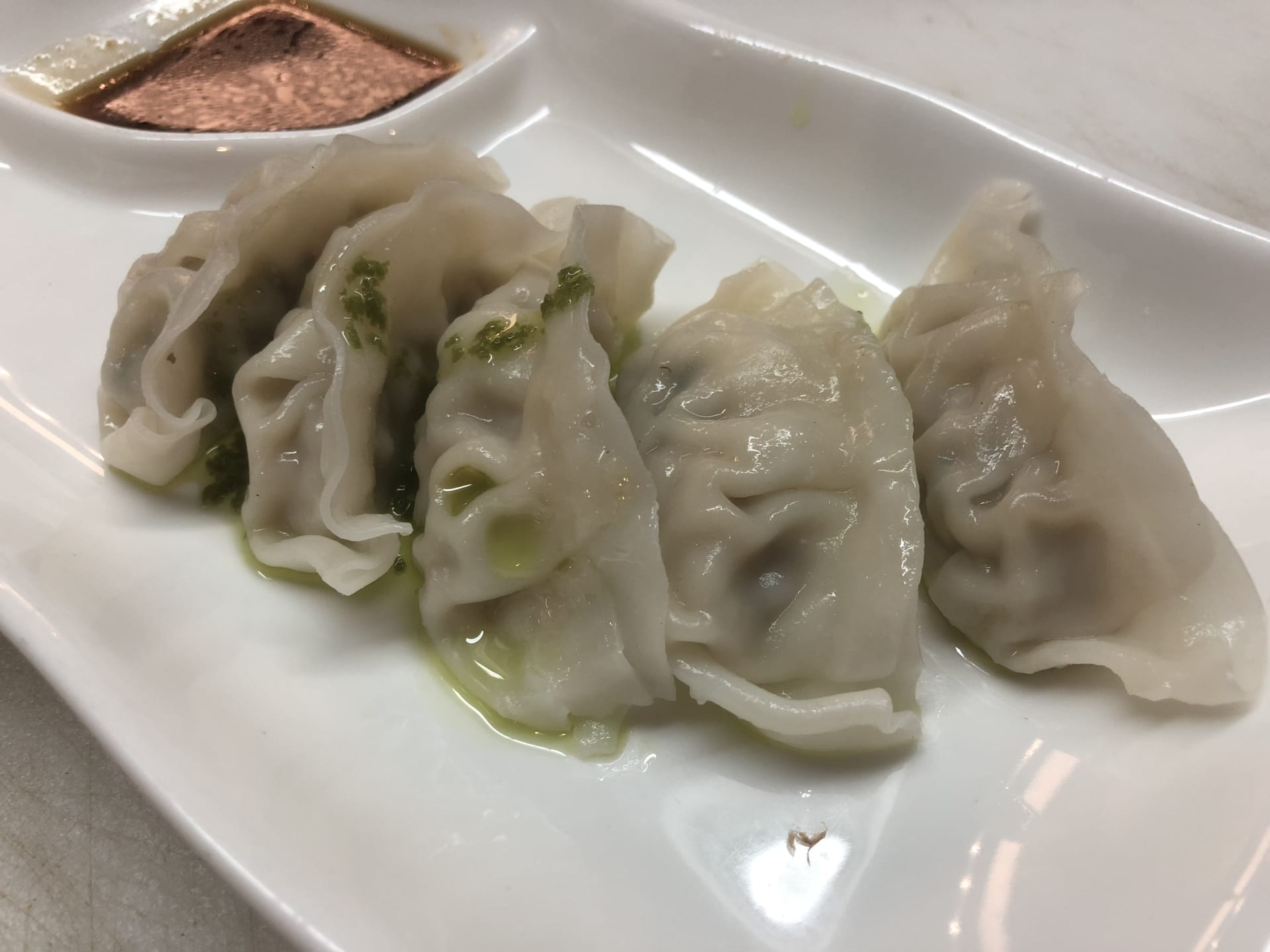 Steamed Chicken & Pork Dumplings