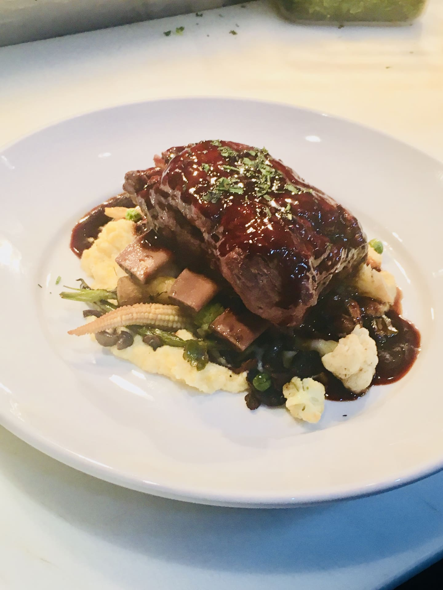 Bourbon Braised Kurobuta Pork Short Rib