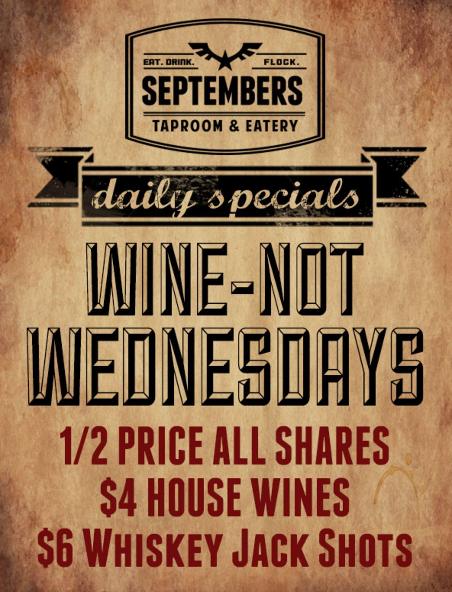 Wednesday   Wine-not Wednesday
