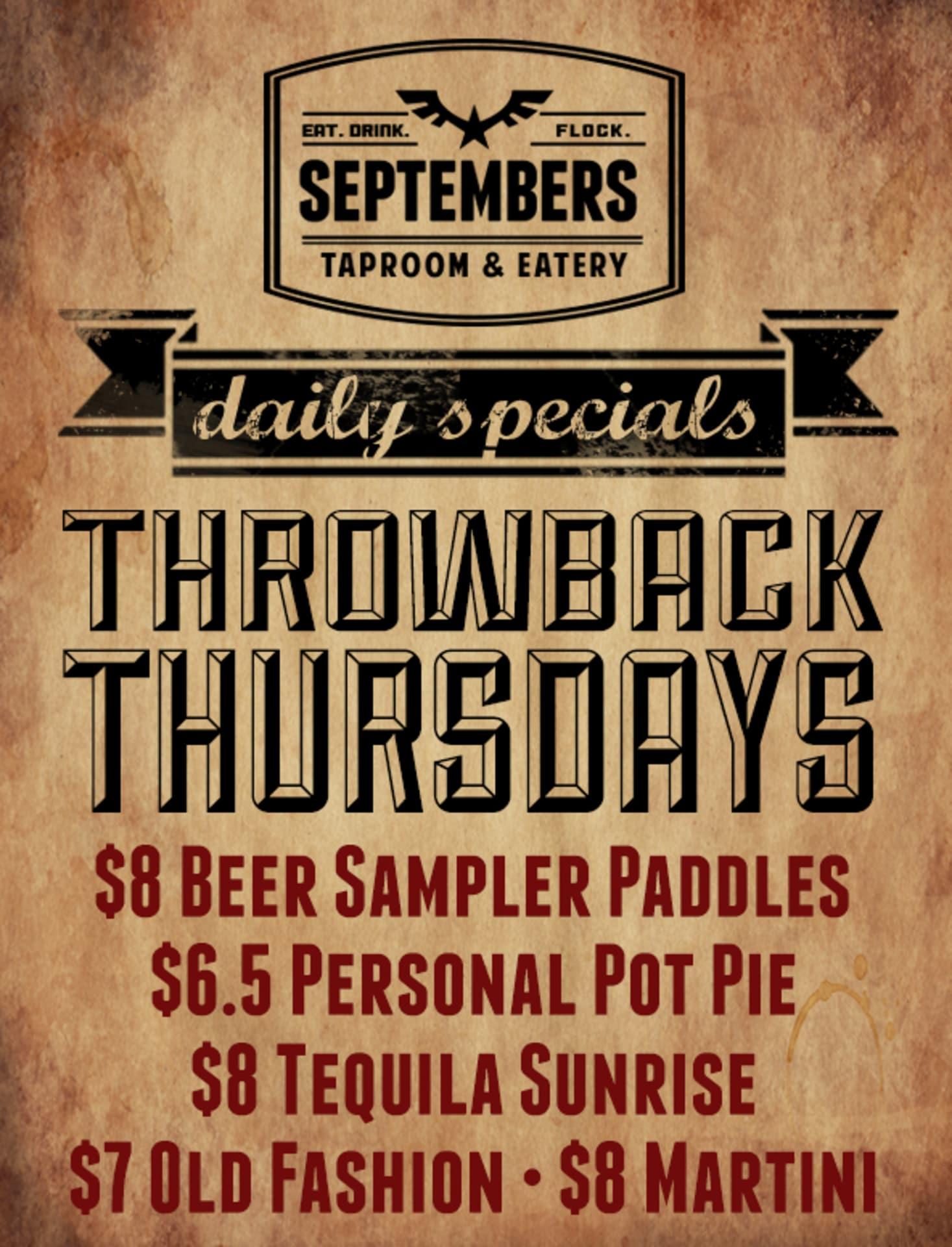 Thursday   Throwback Thursday