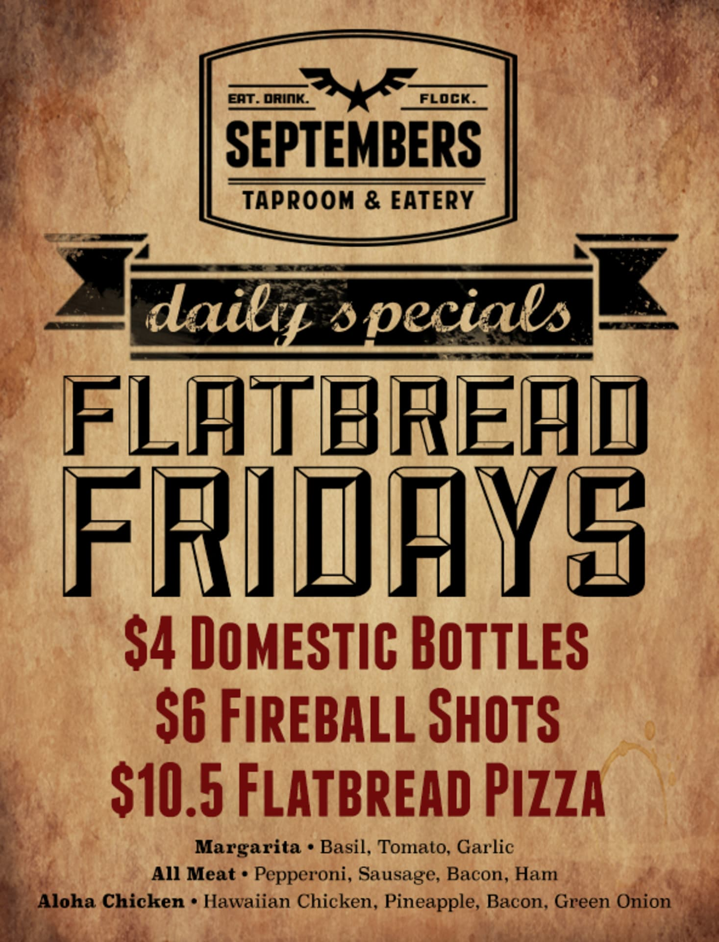 Friday   Flatbread Friday