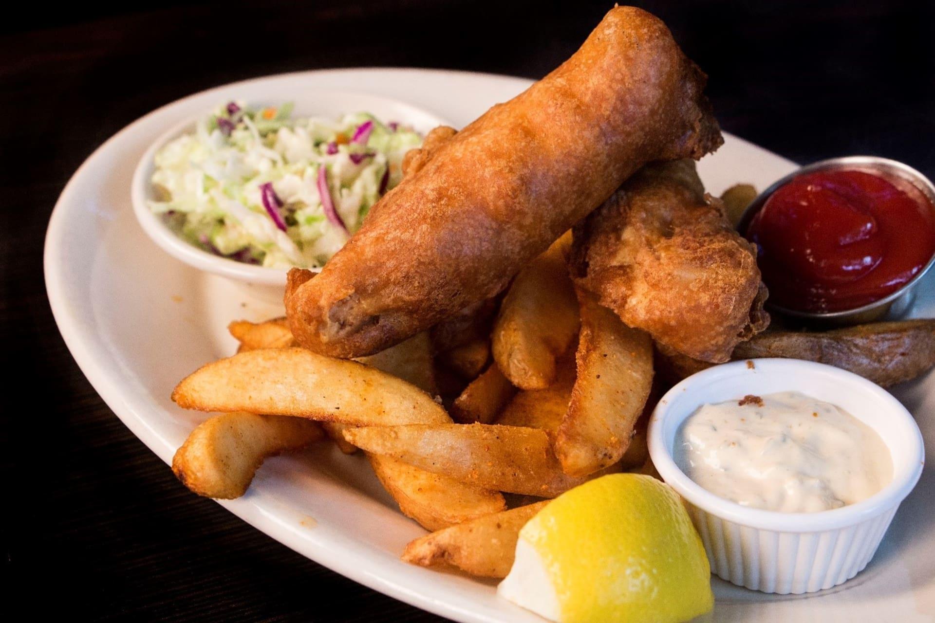 Alaskan Cod & Chips