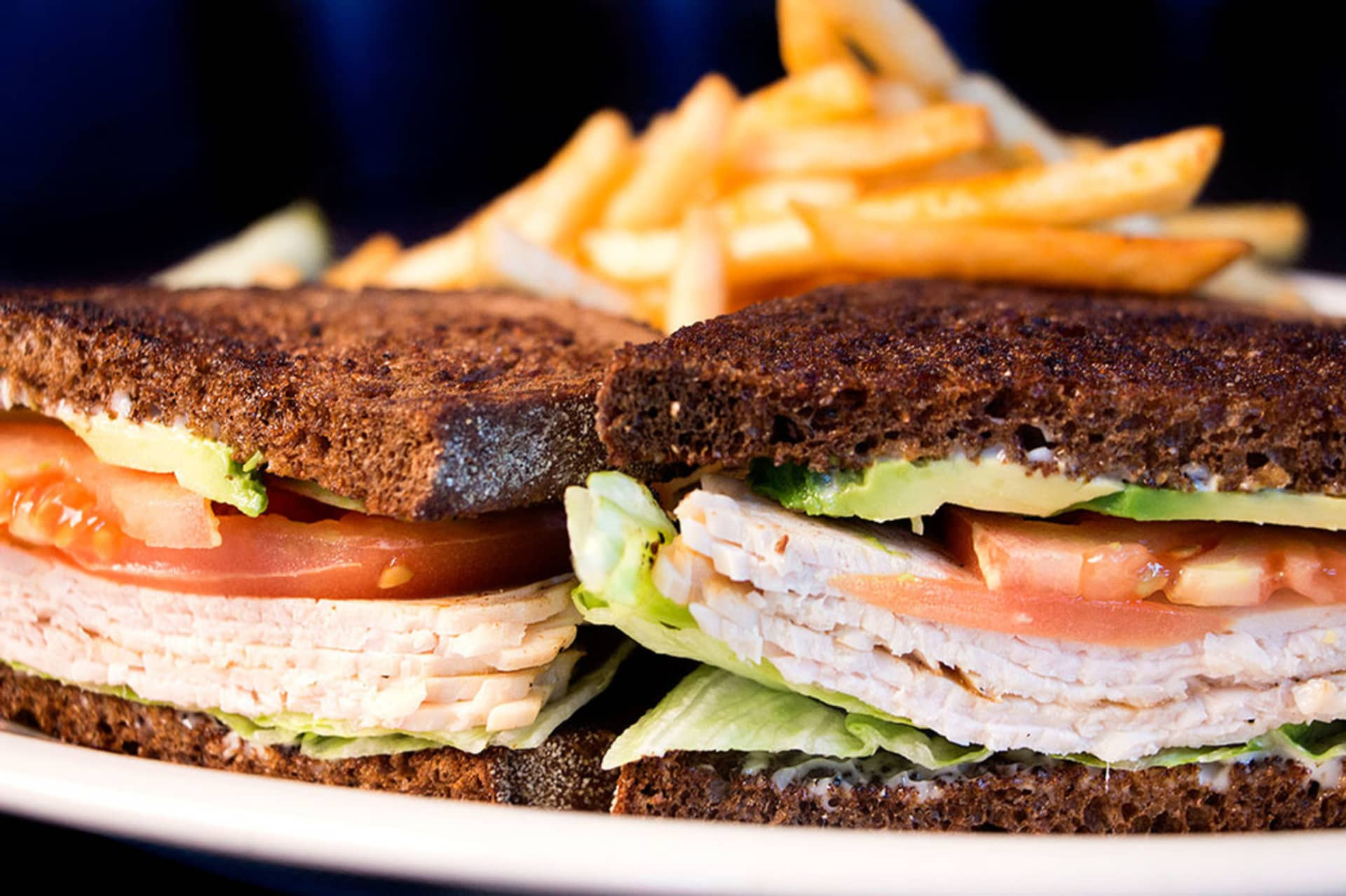 Smoked Turkey and Avocado