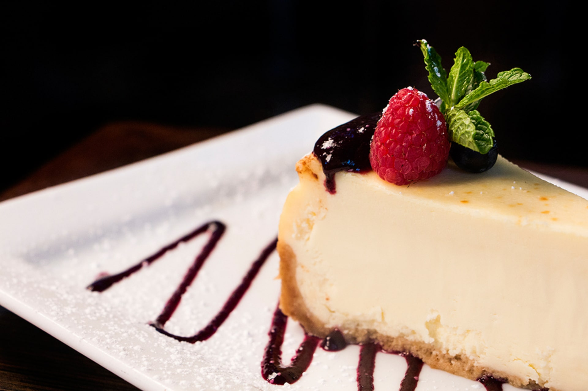 Colossal New York Cheesecake