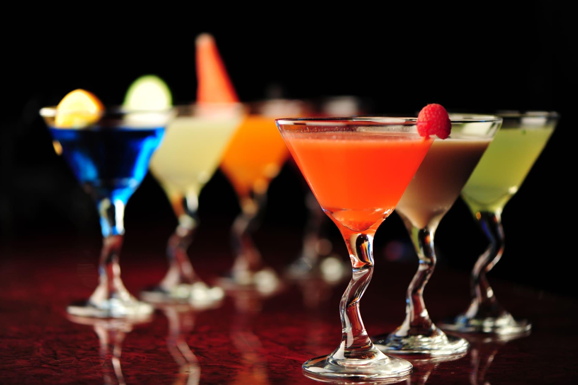 Fresh Raspberry Martini