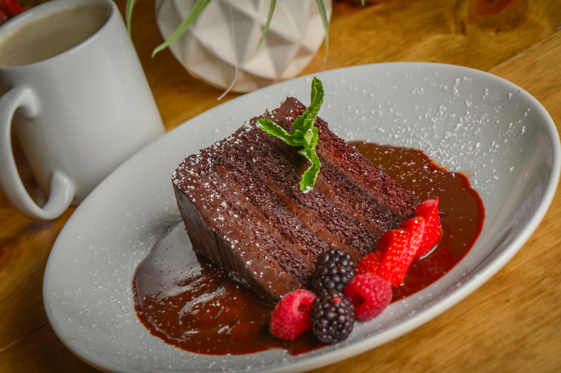 Abueleta Chocolate Cake