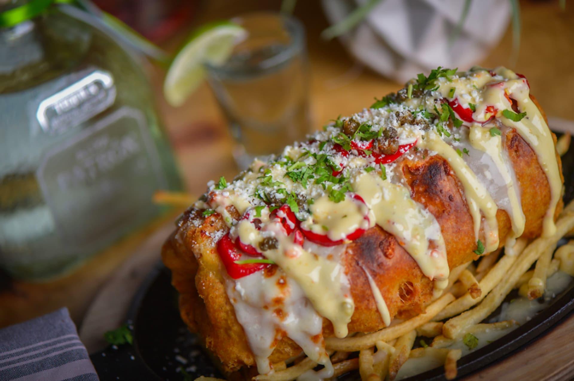 Fish and Chips Burrito