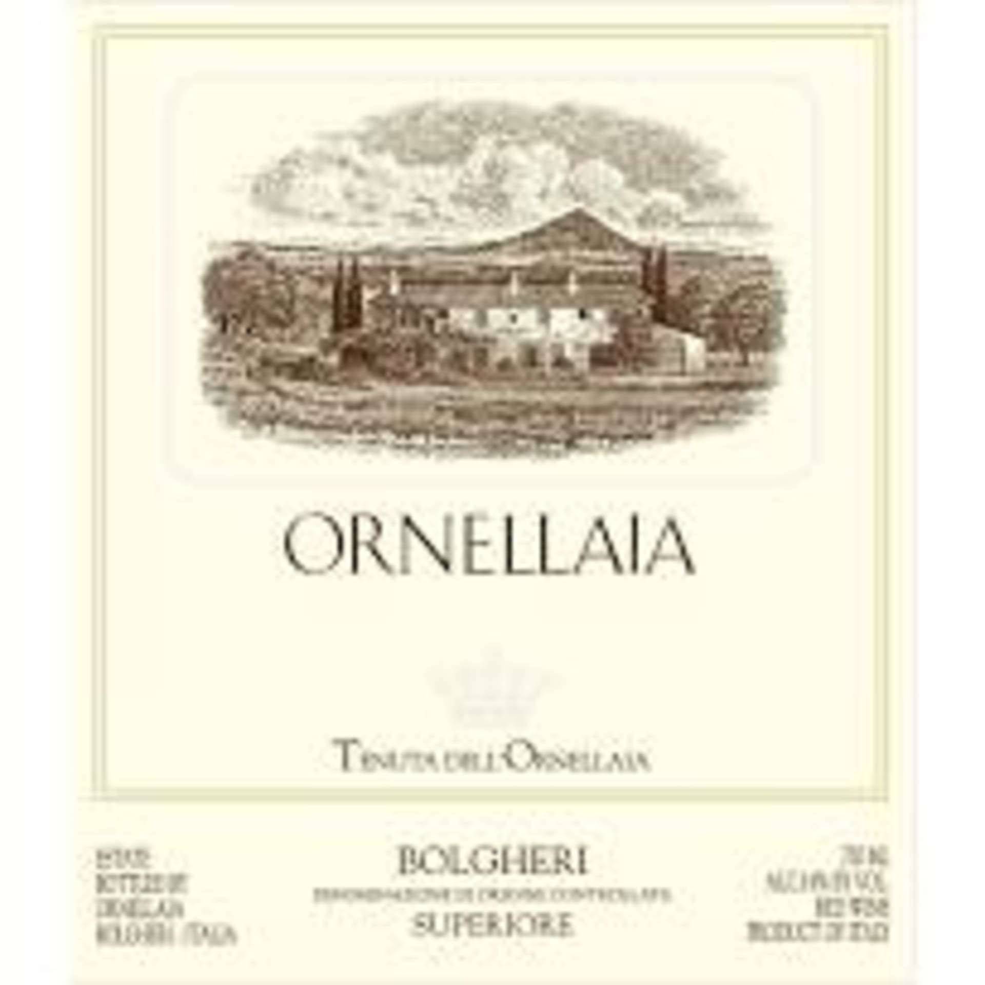 June Paring Dinner - Ornellaia Estate