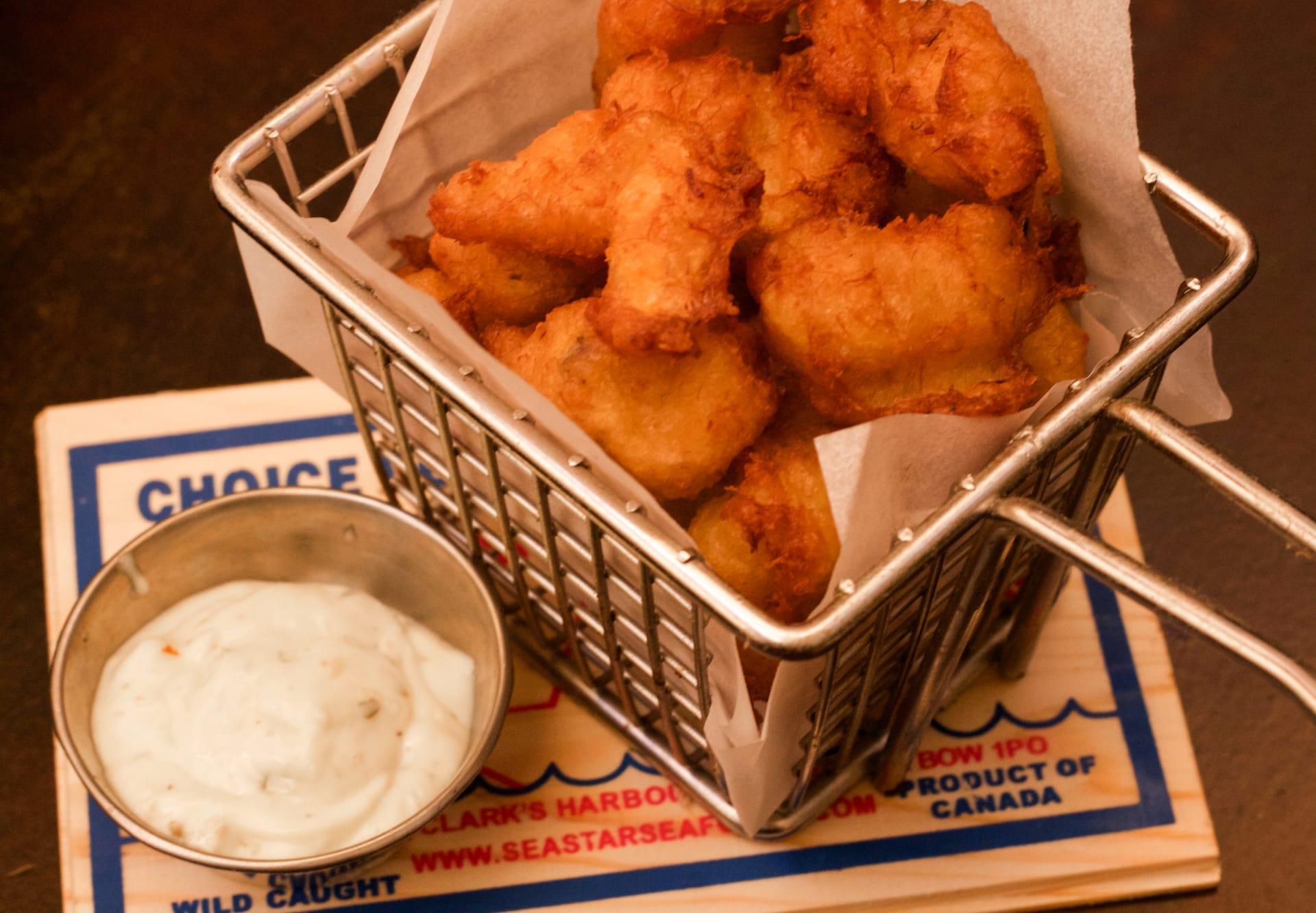 Salt Cod & Potato Fritters
