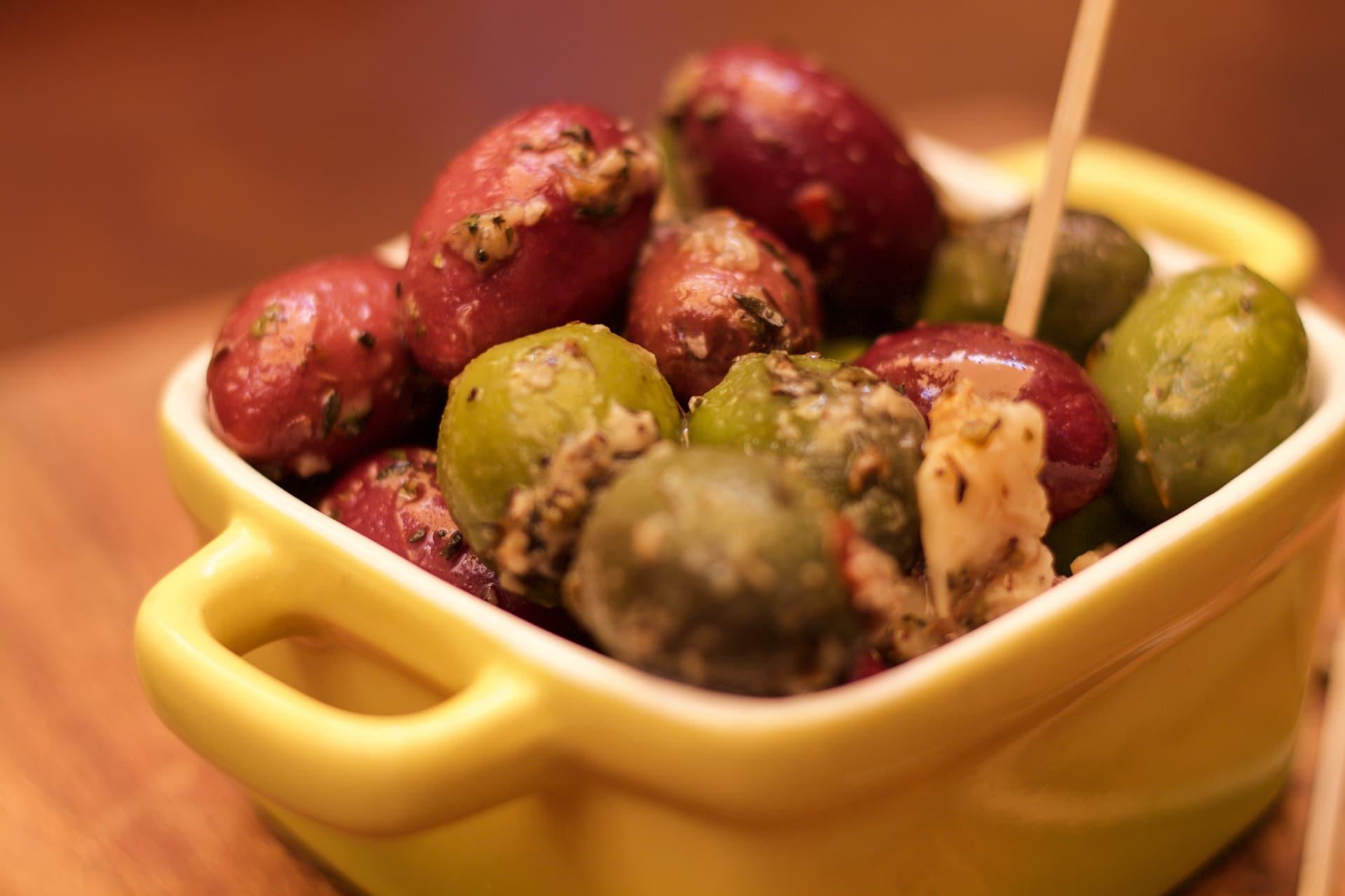 House Marinated Spanish Olives