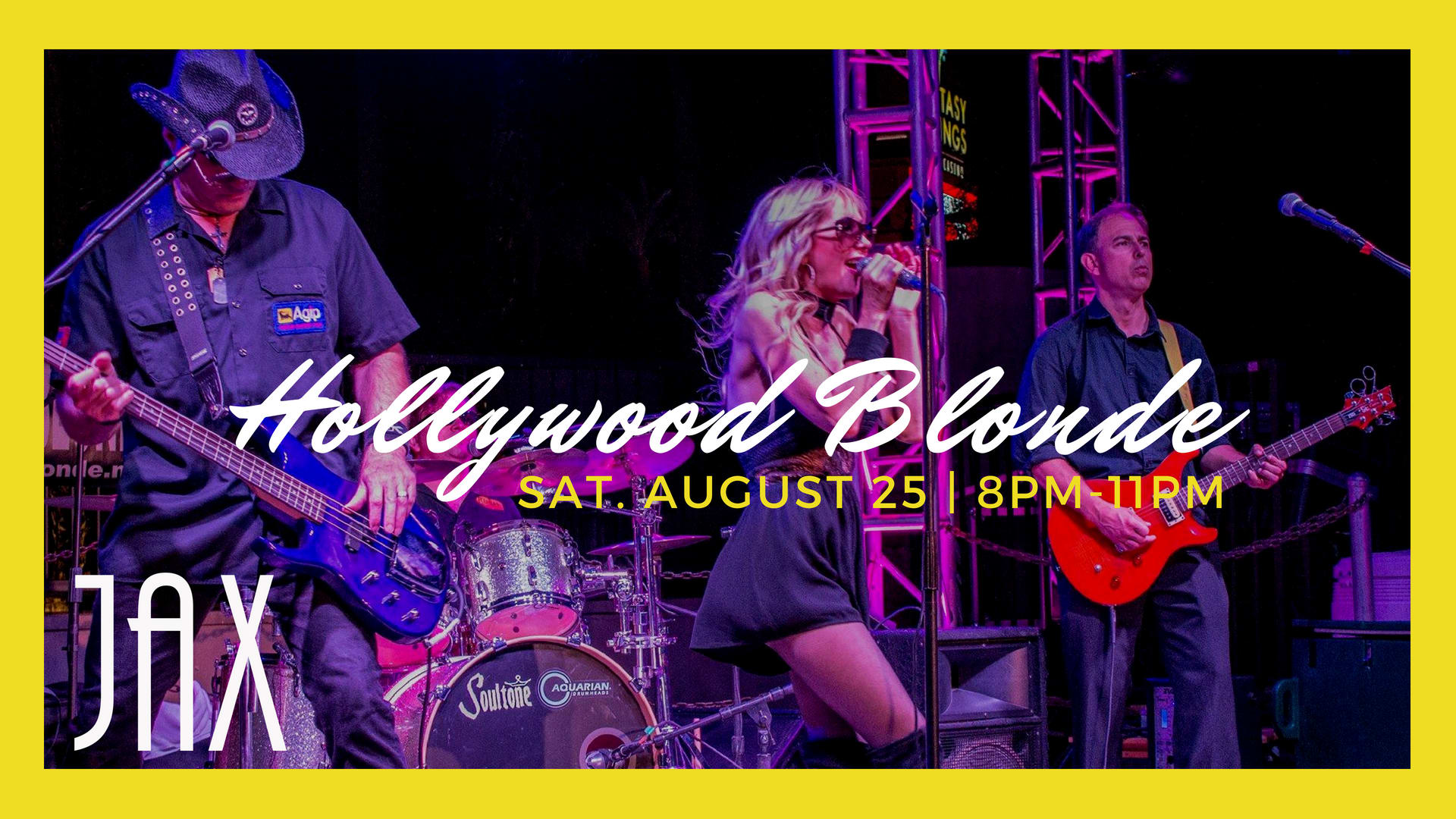August 25 | HOLLYWOOD BLONDE