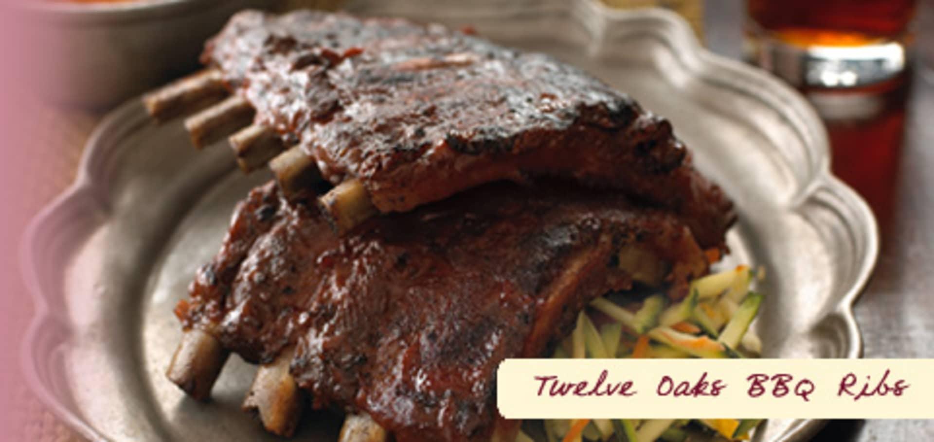 TWELVE OAKS BBQ RIBS