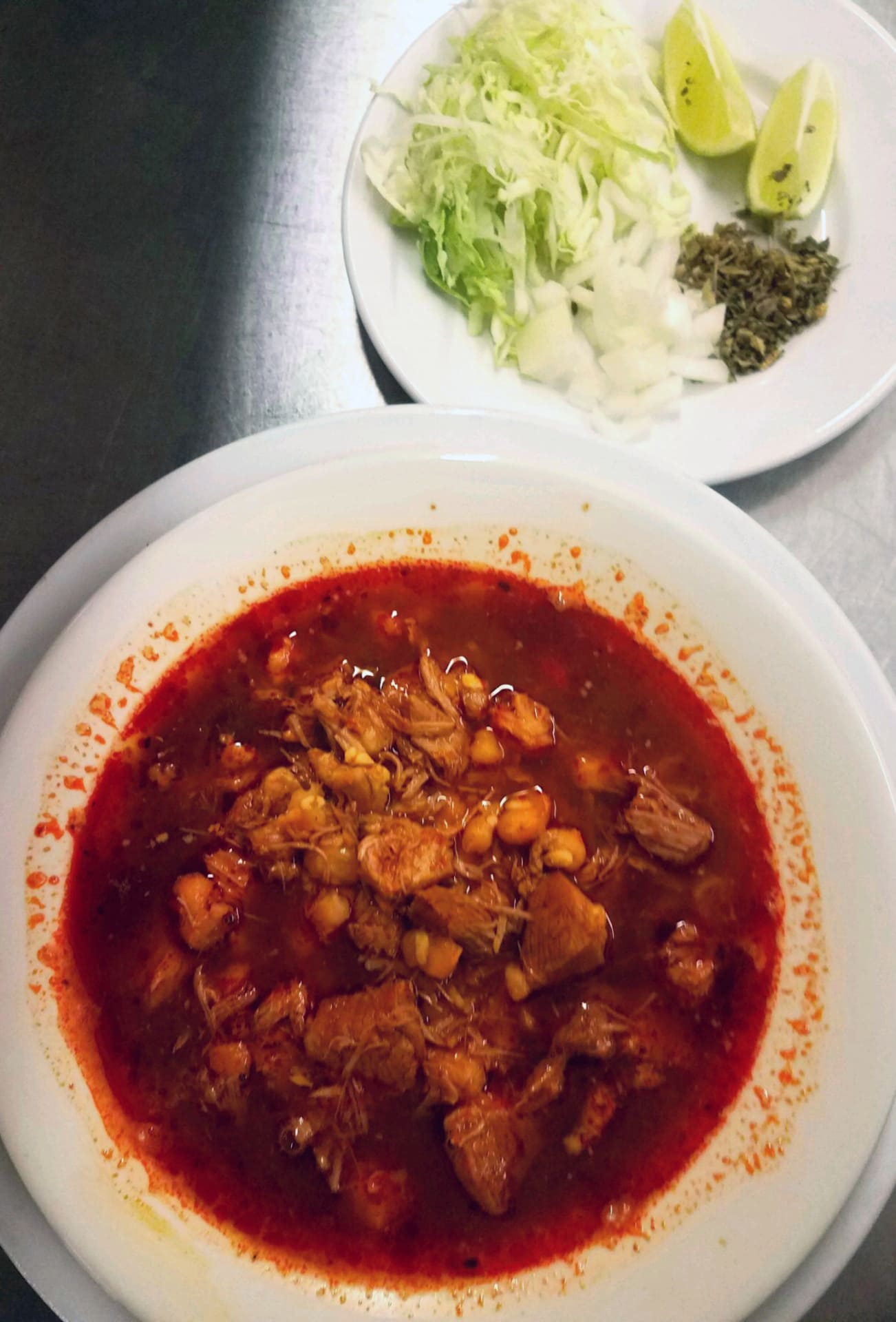 Posole Authentic Served Saturday & Sundays
