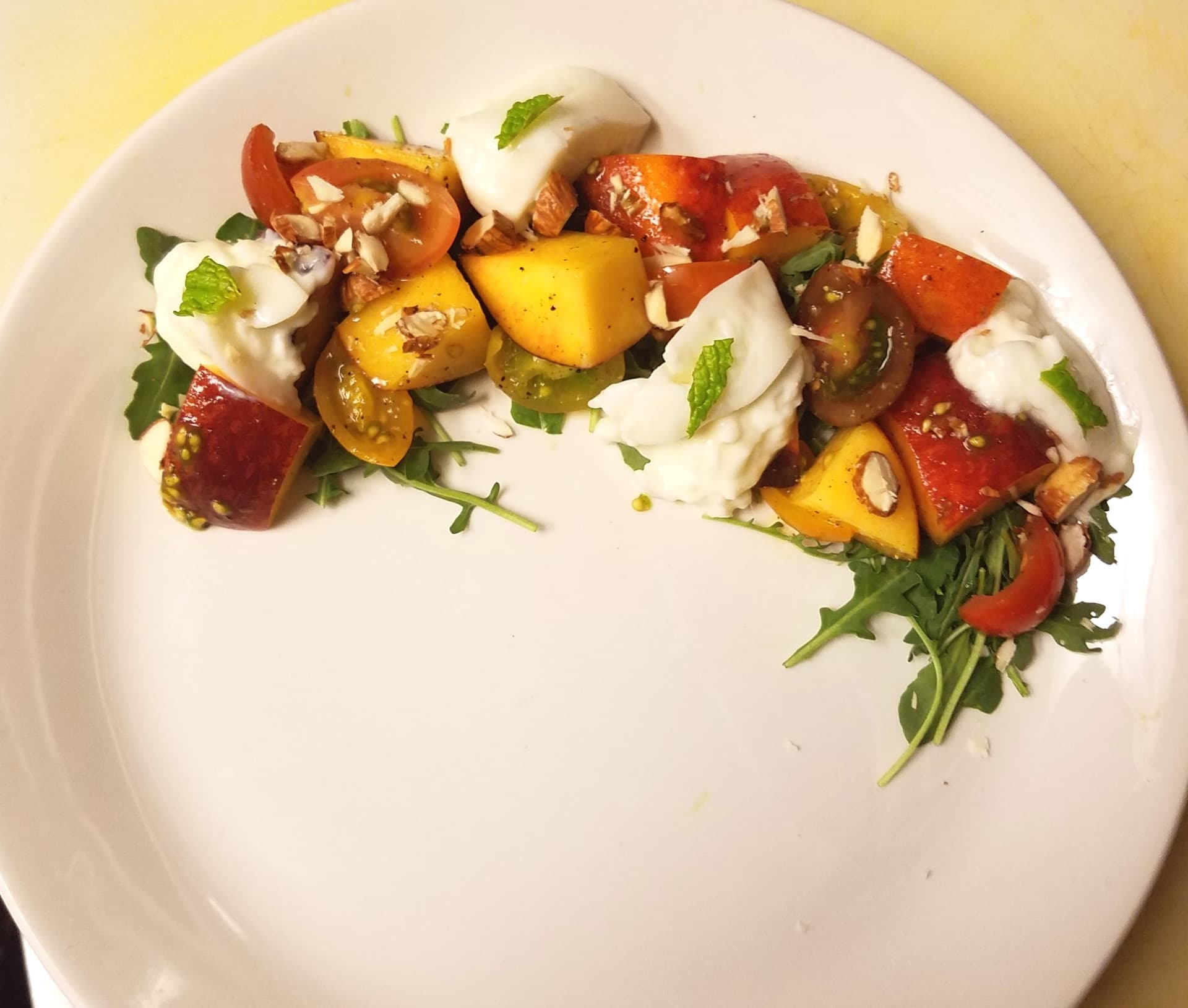 Summer Burrata Salad