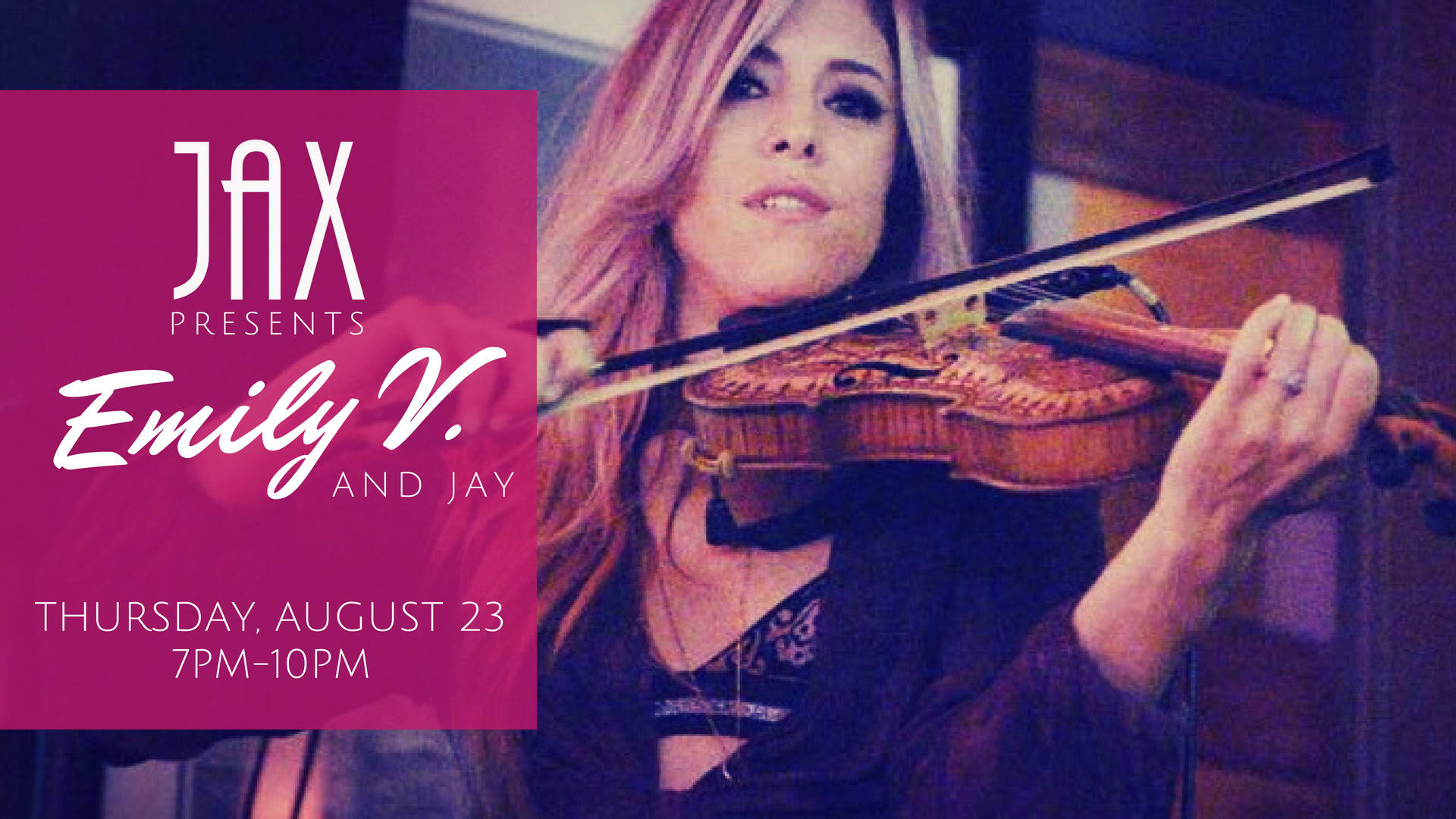 August 23 | EMILY V. and JAY MAGDALENO