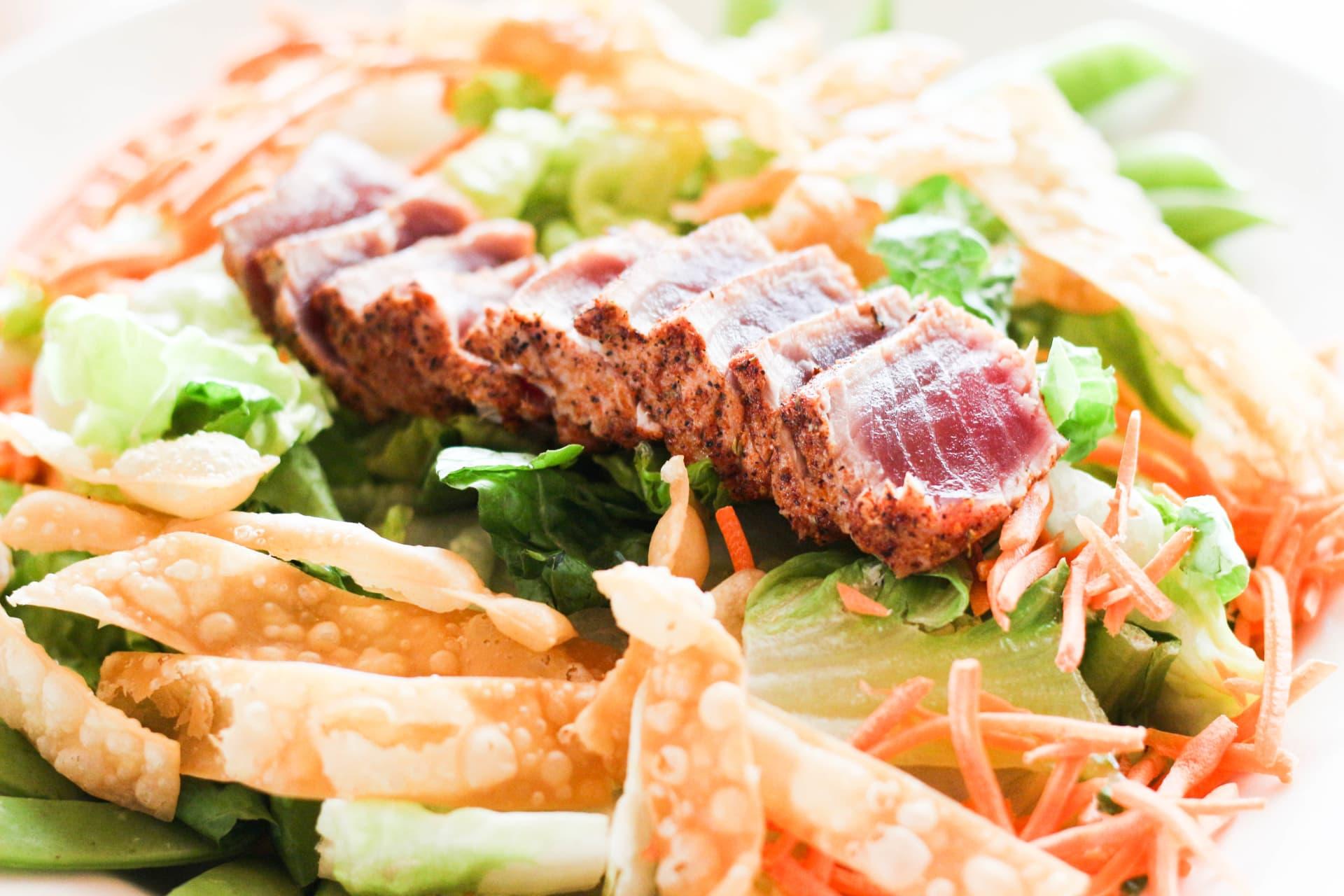 Blackened Tuna Salad