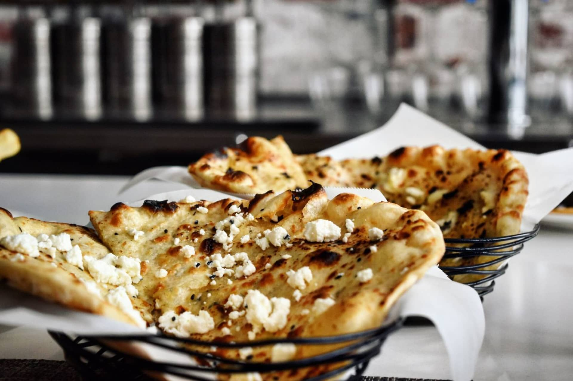 Goats Cheese And Fennel Naan