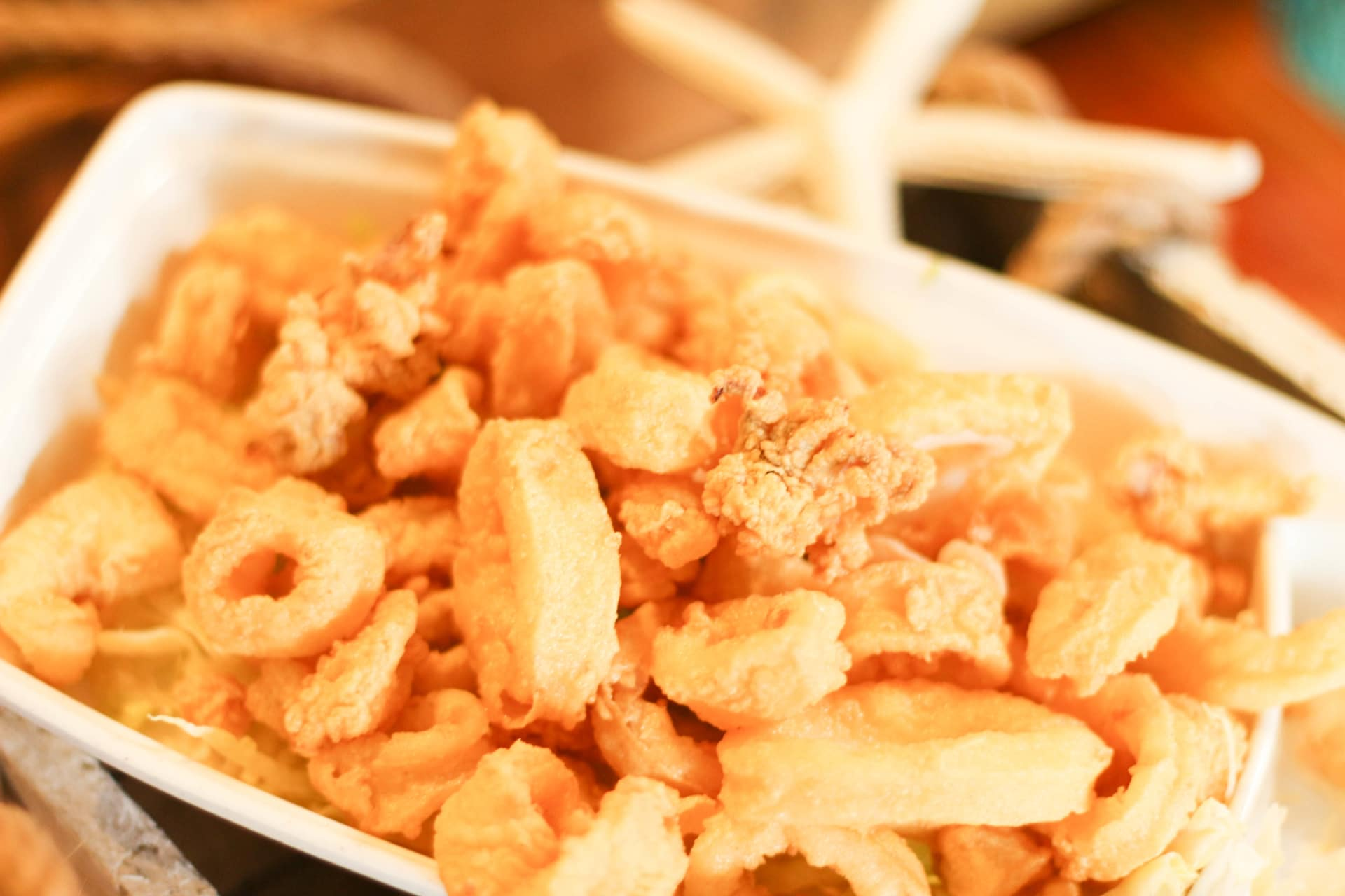 Fried Fresh Cut Calamari