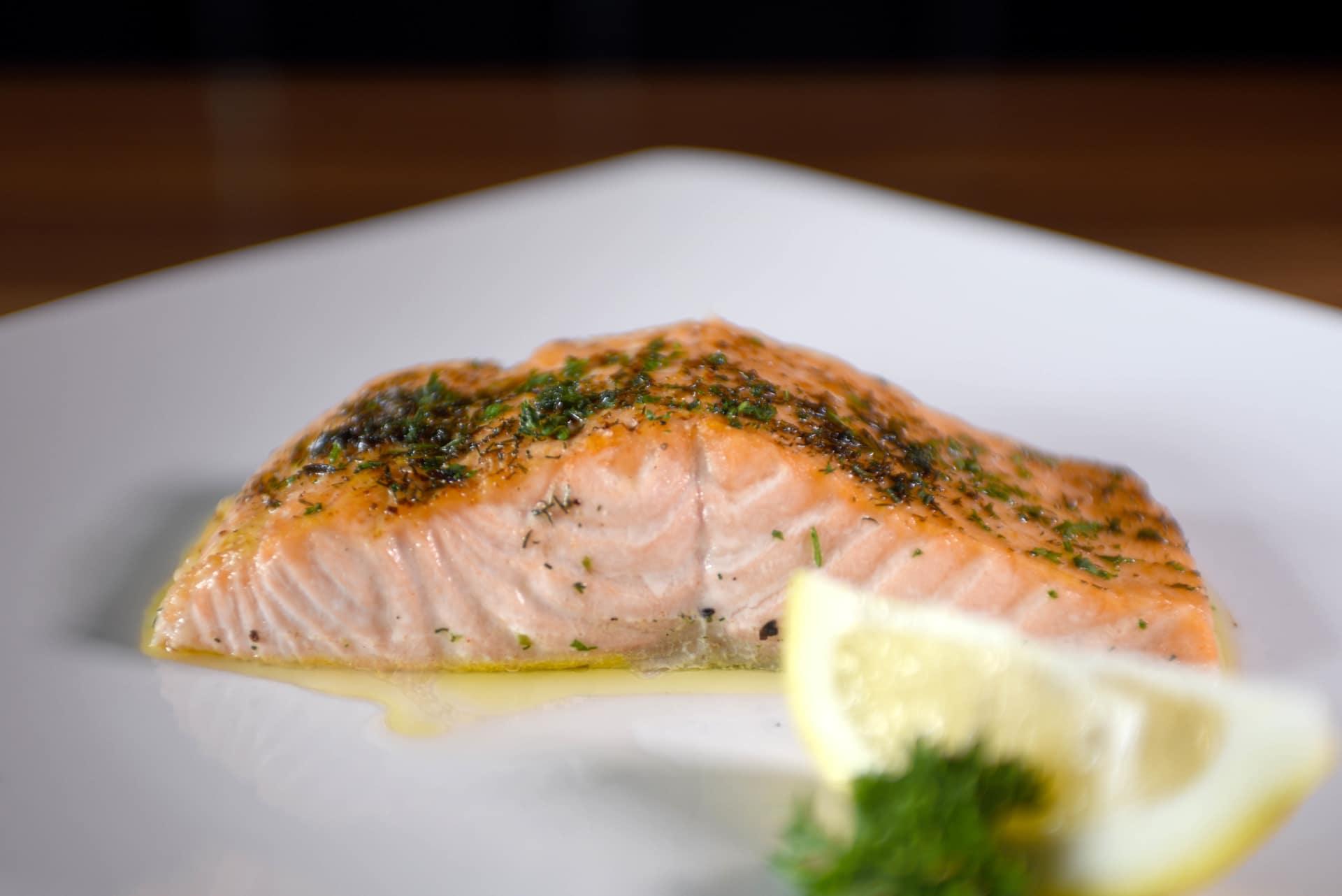 Seared Crispy Salmon