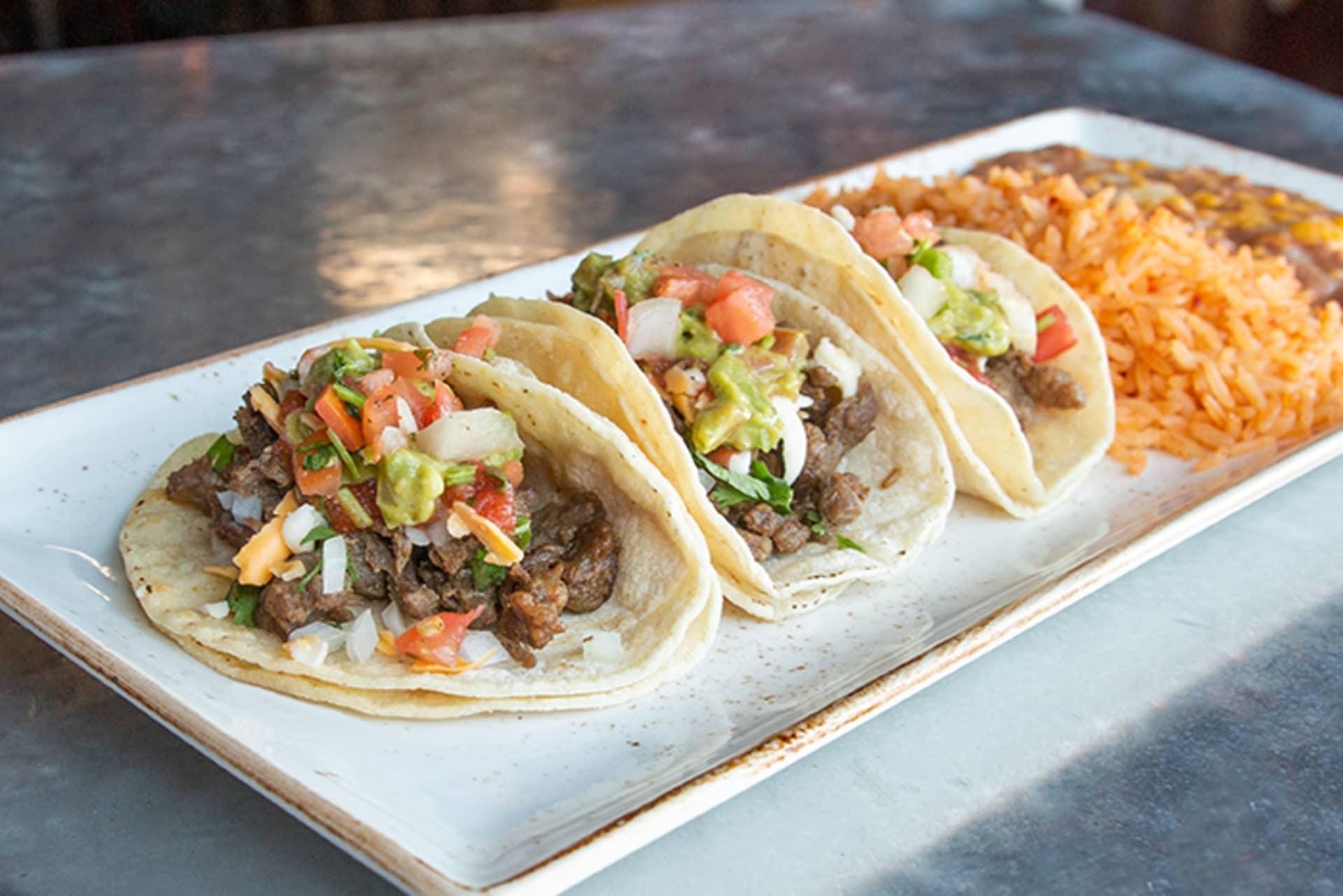 Taco or Taquito Plate