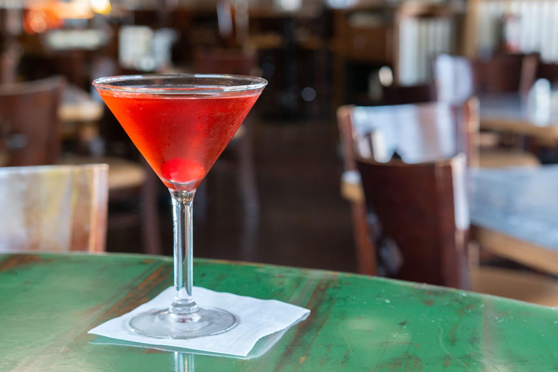 Crown Royal Apple Martini