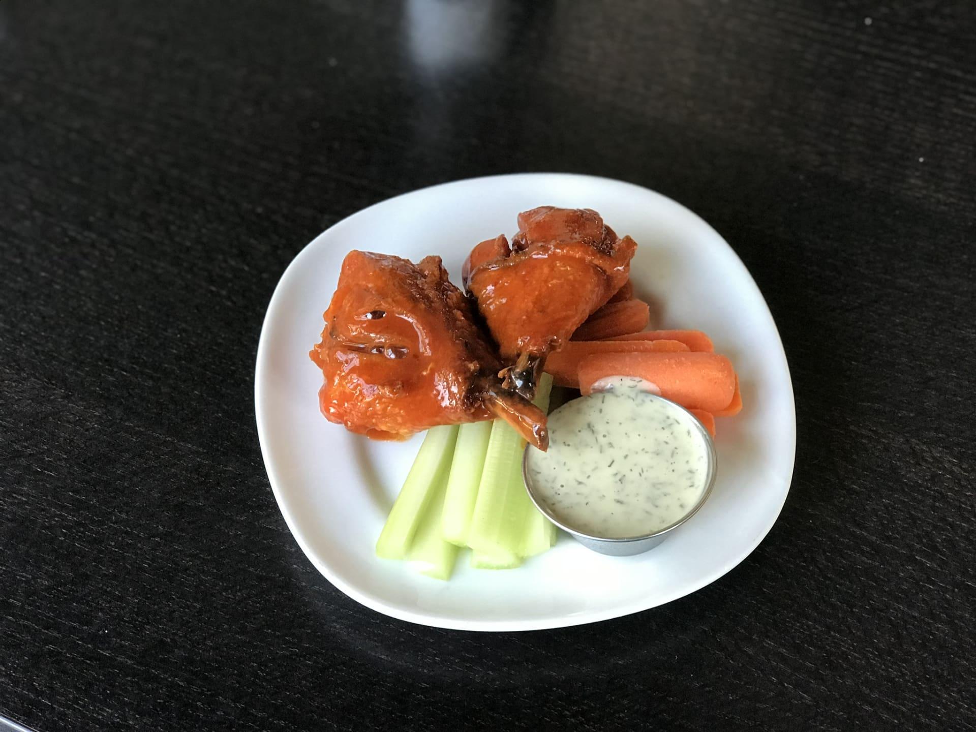 Hot Wings w/ Jidori Drumettes, Carrots & Celery