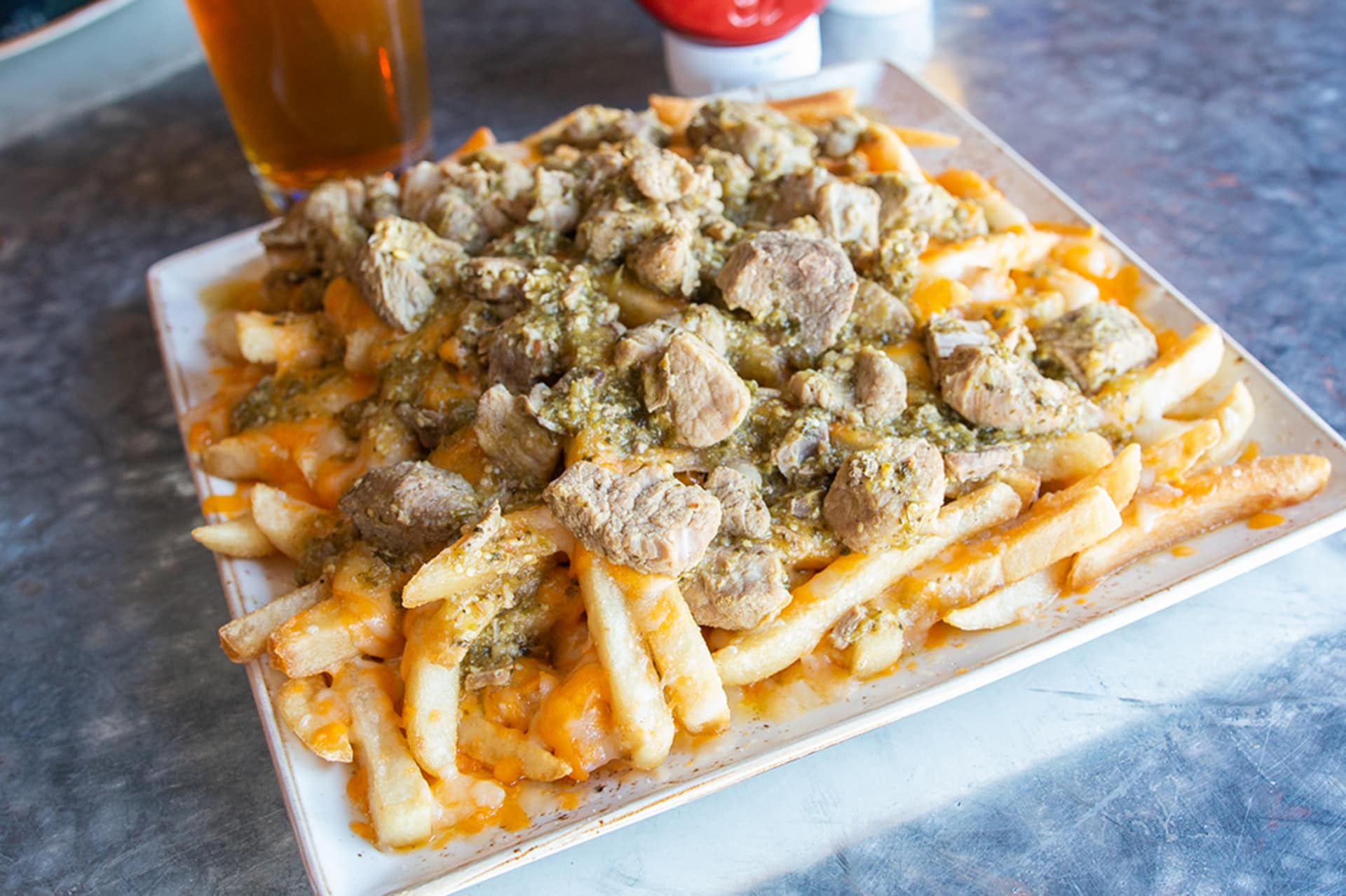 Smothered Wet Fries