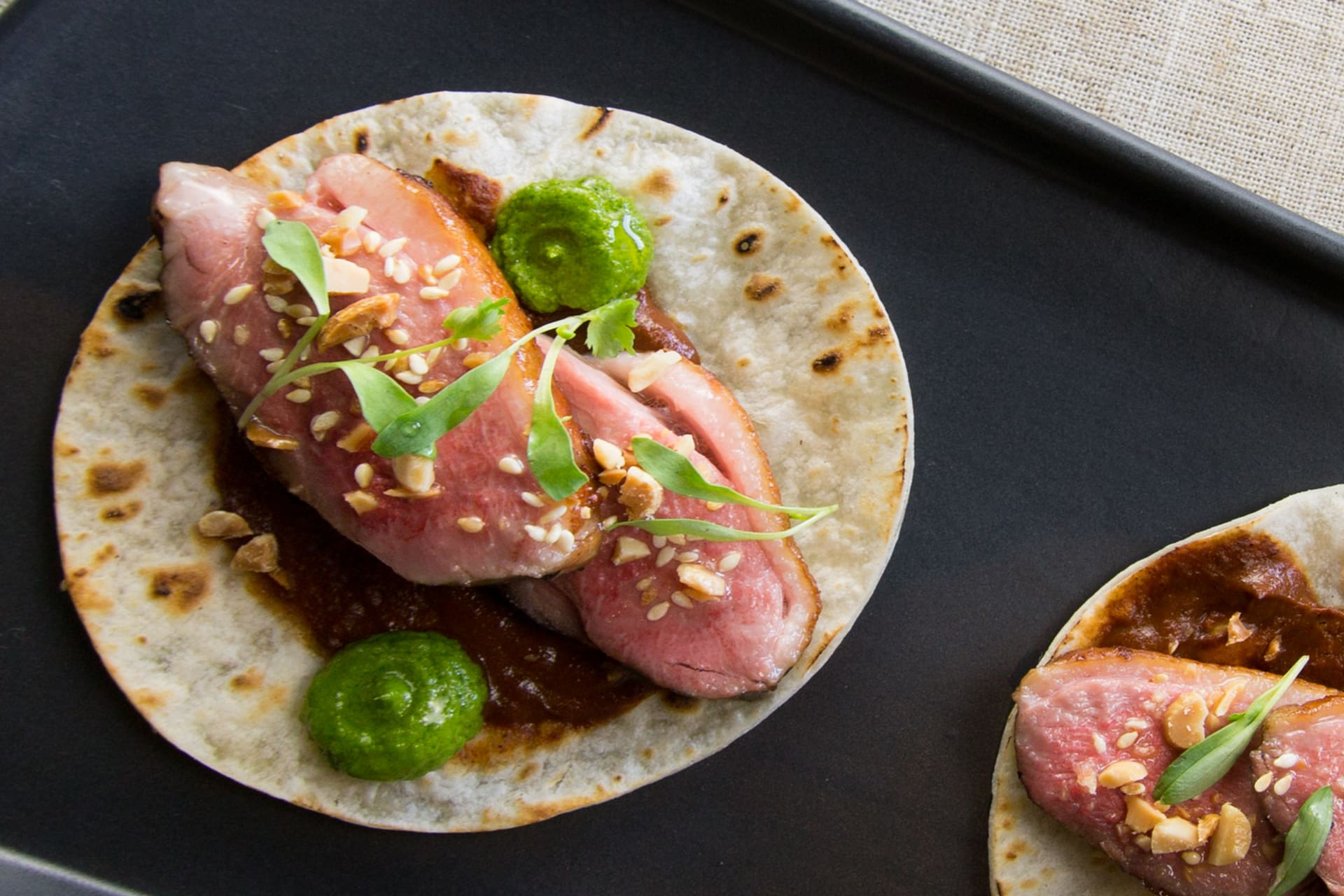 DUCK BREAST TACO