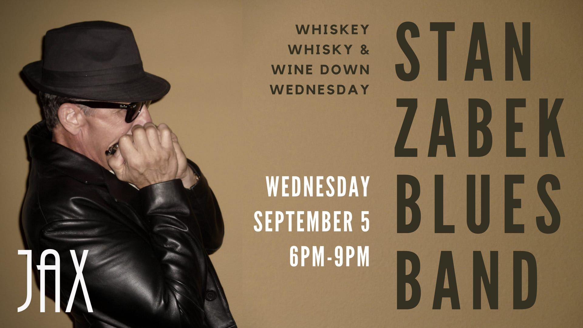 September 5 | WEDNESDAY NIGHT BLUES with STAN ZABEK