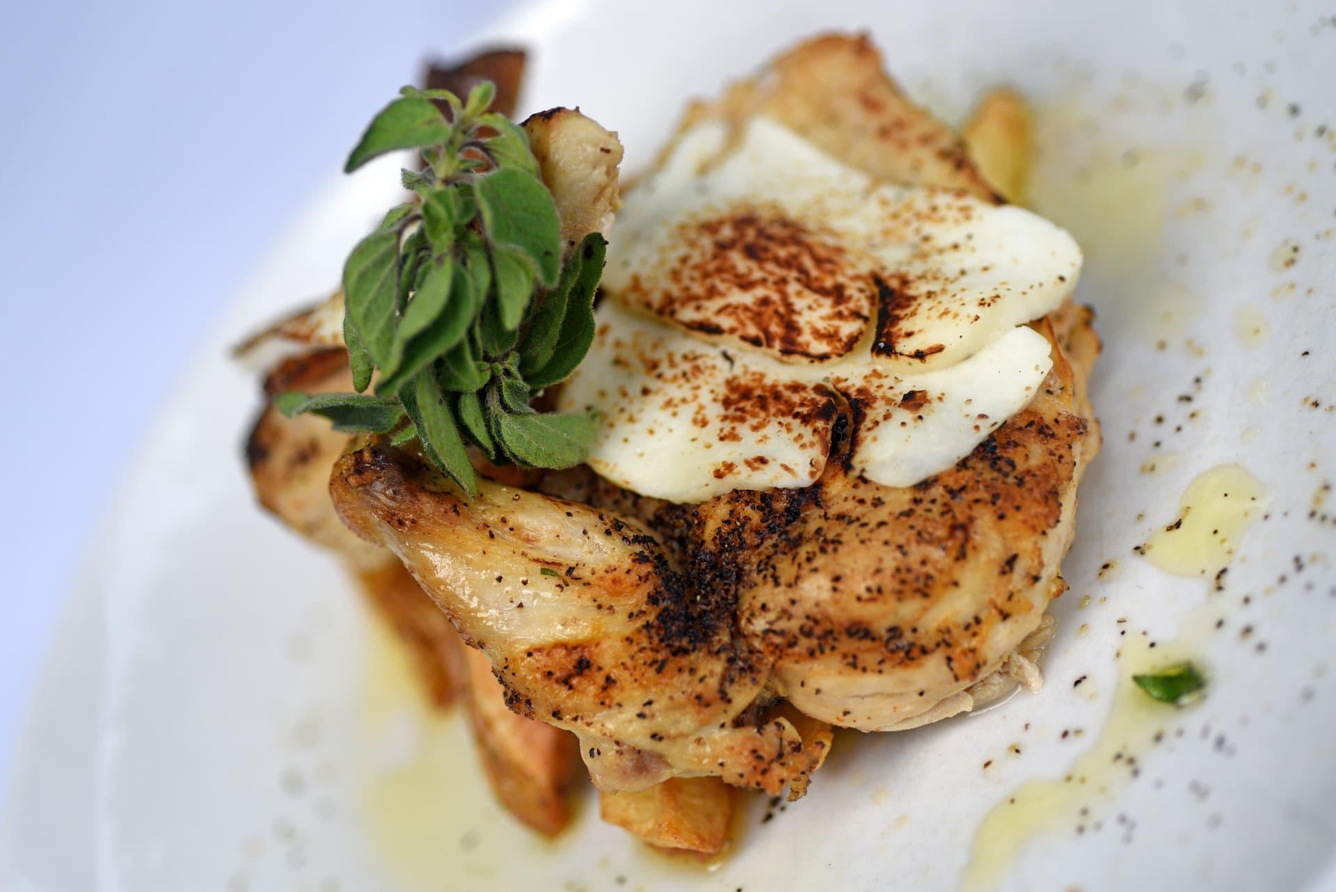 Mediterranean Organic Chicken