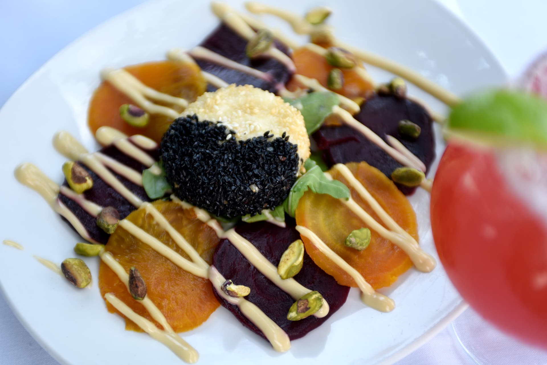 Roasted Red & Yellow Beets