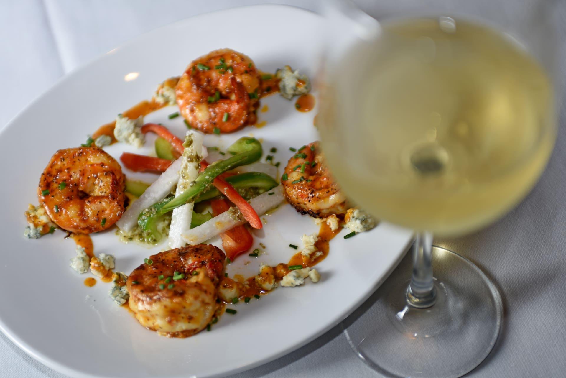 Sautéed Spicy Shrimp