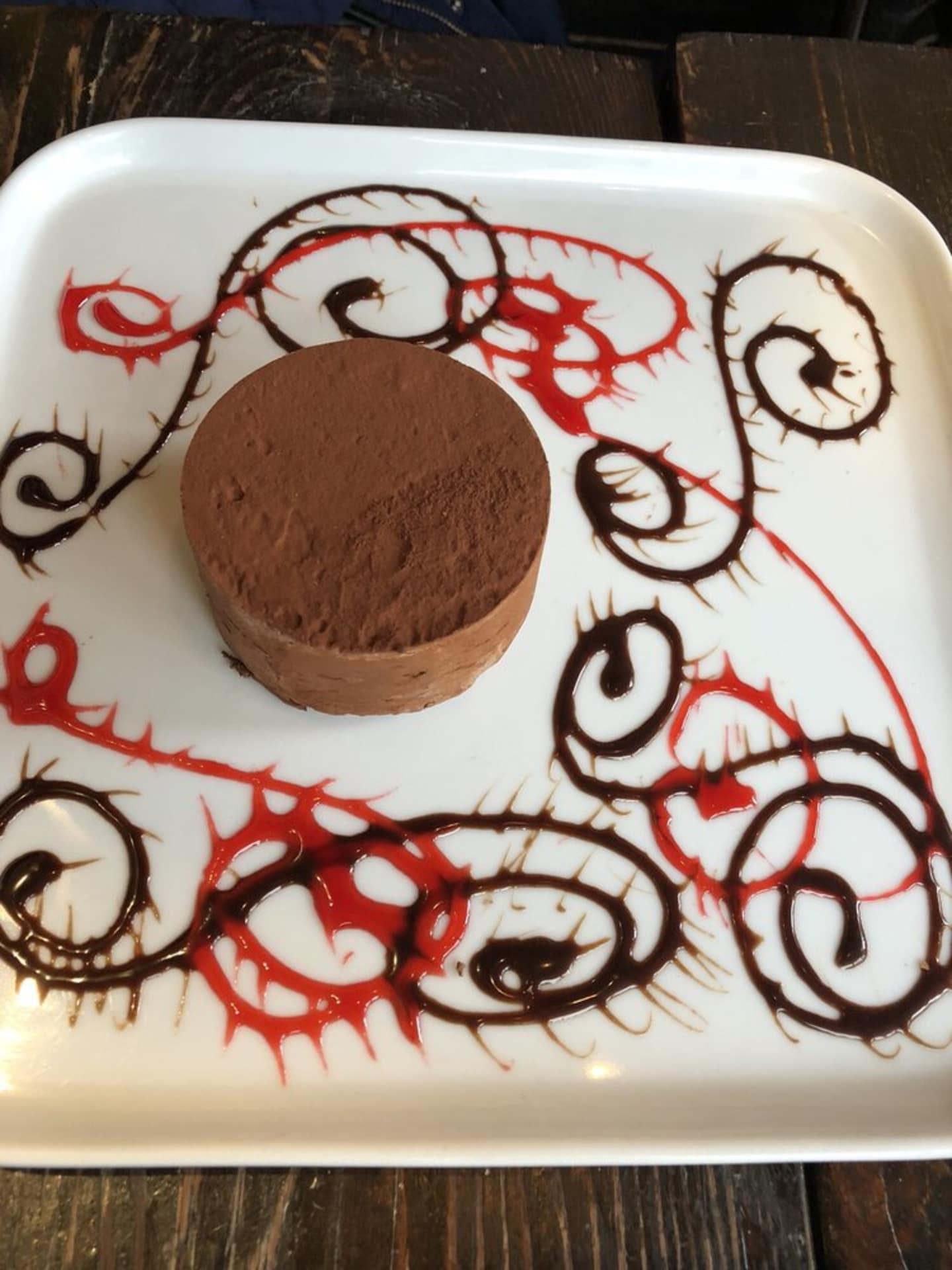 CHOCOLATE TRUFFLE MOUSE