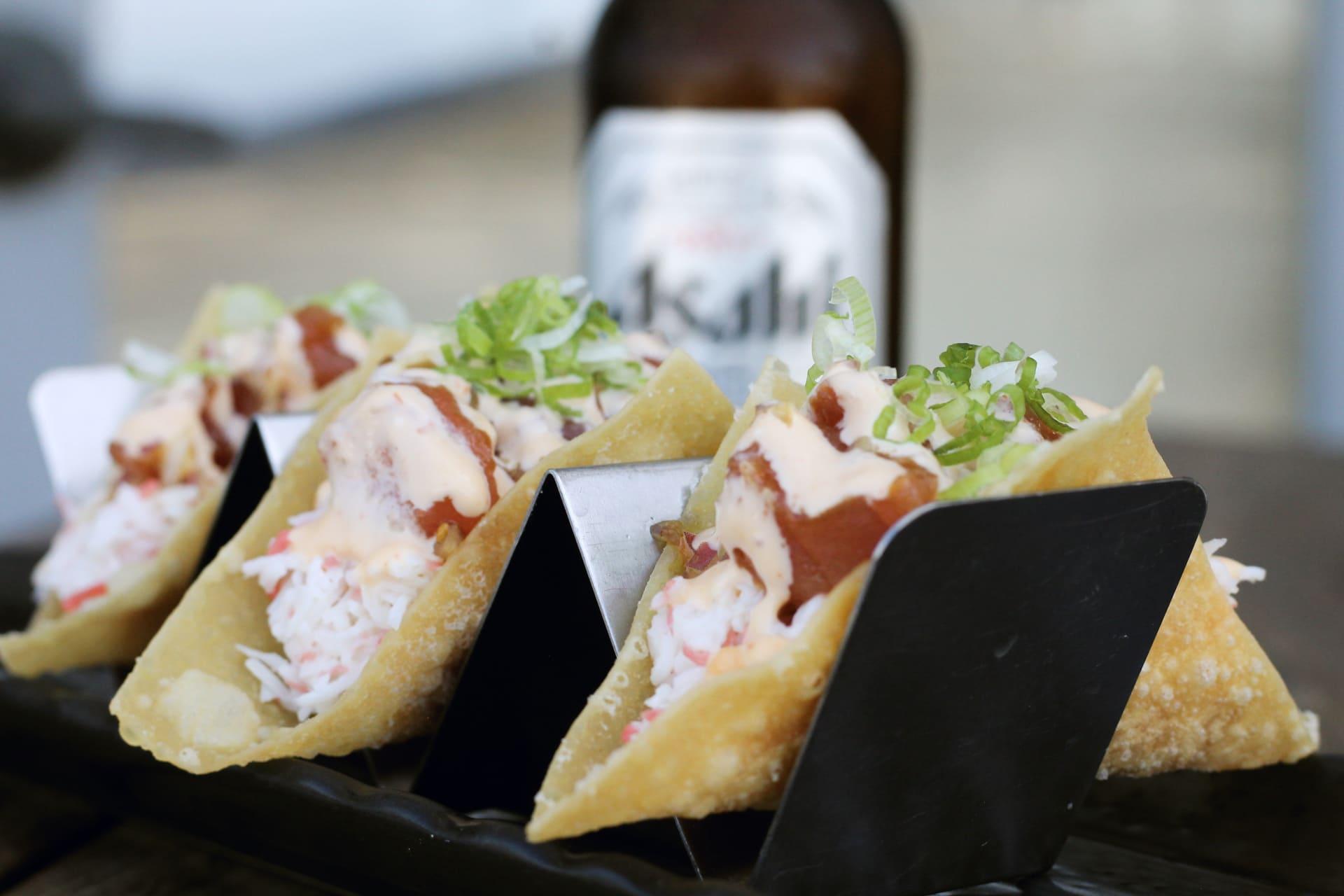 Poke Tacos (3)