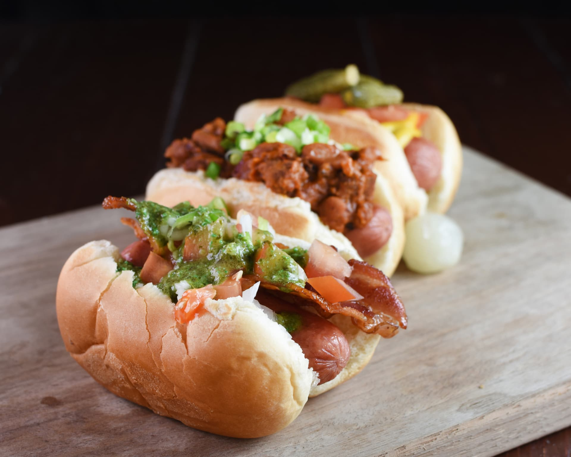HOT DOG SLIDER TRIO