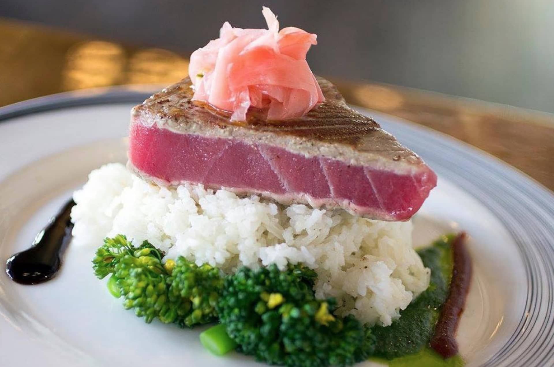 PAN SEARED AHI TUNA