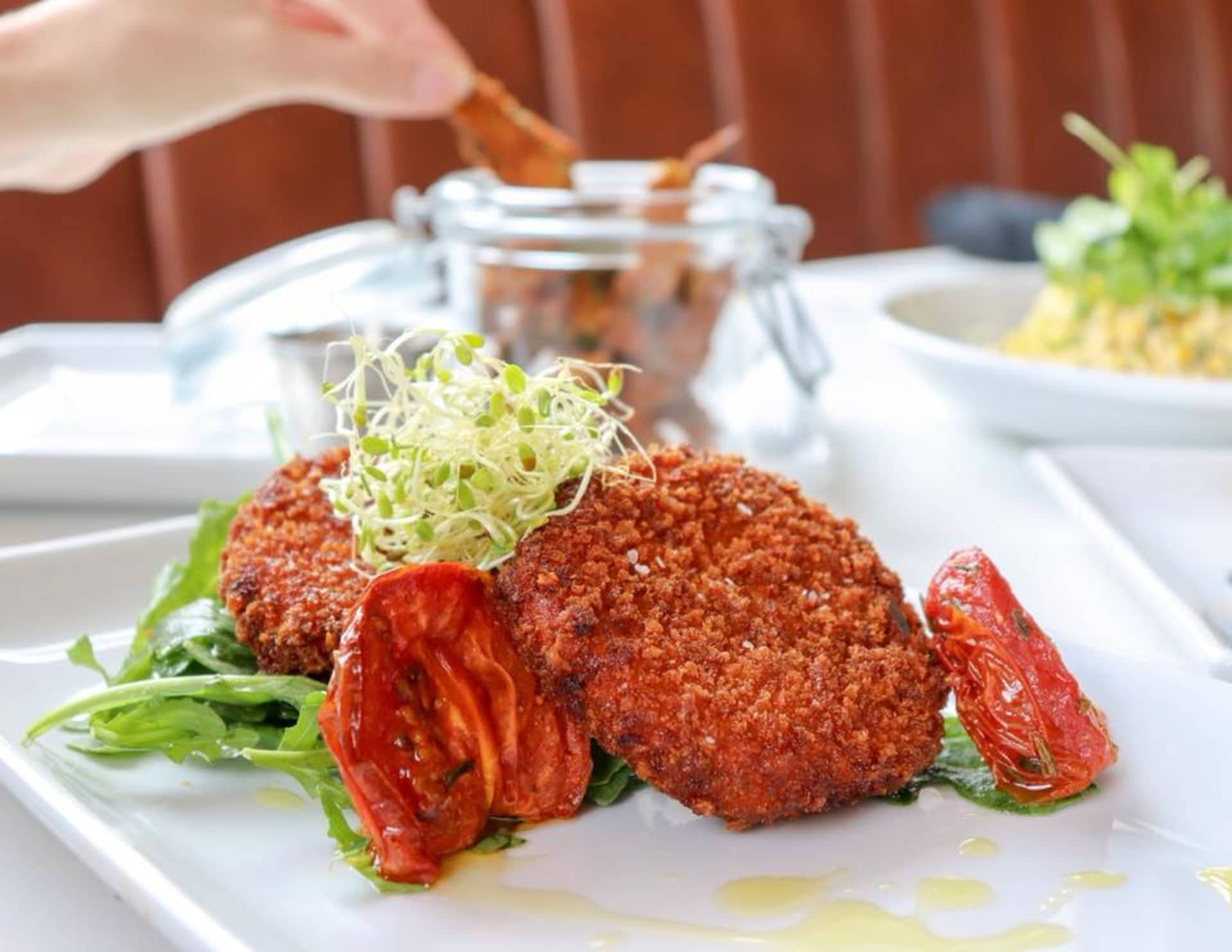 Pimento Cheese Fritter