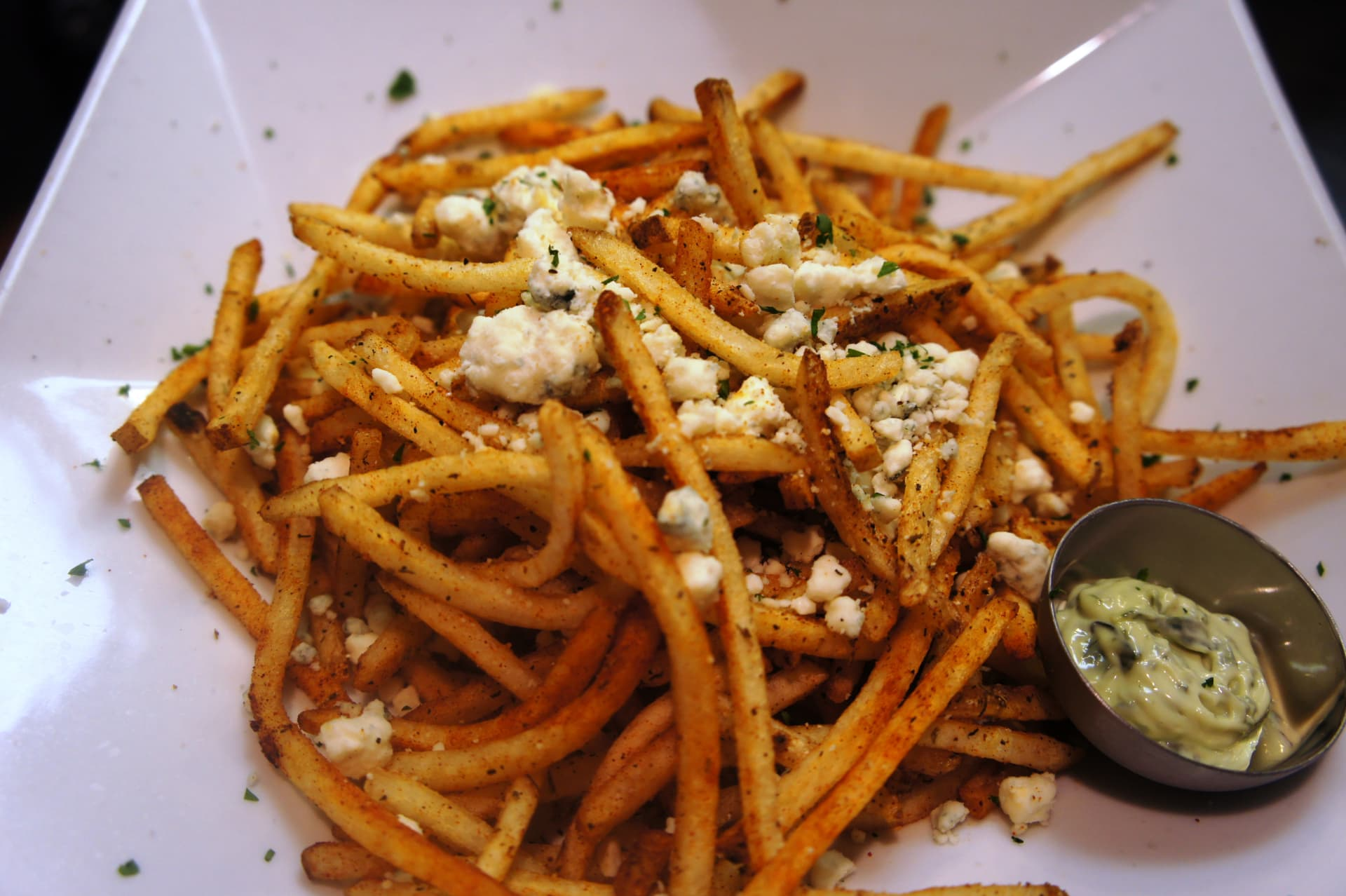 BLUE CHEESE PAPRIKA THYME FRIES