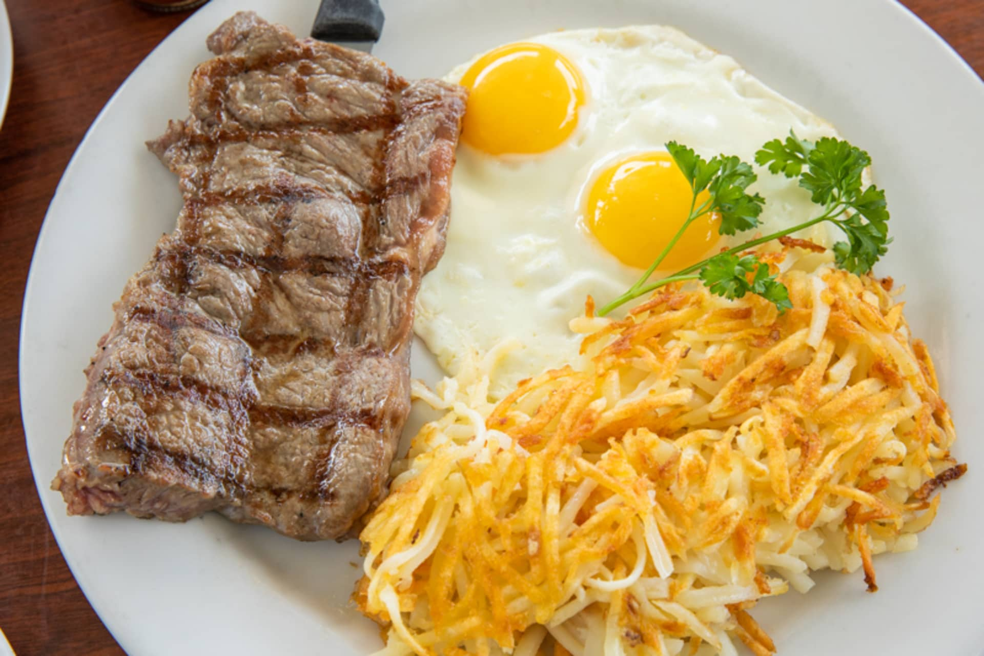 Tuesday - Steak & Eggs