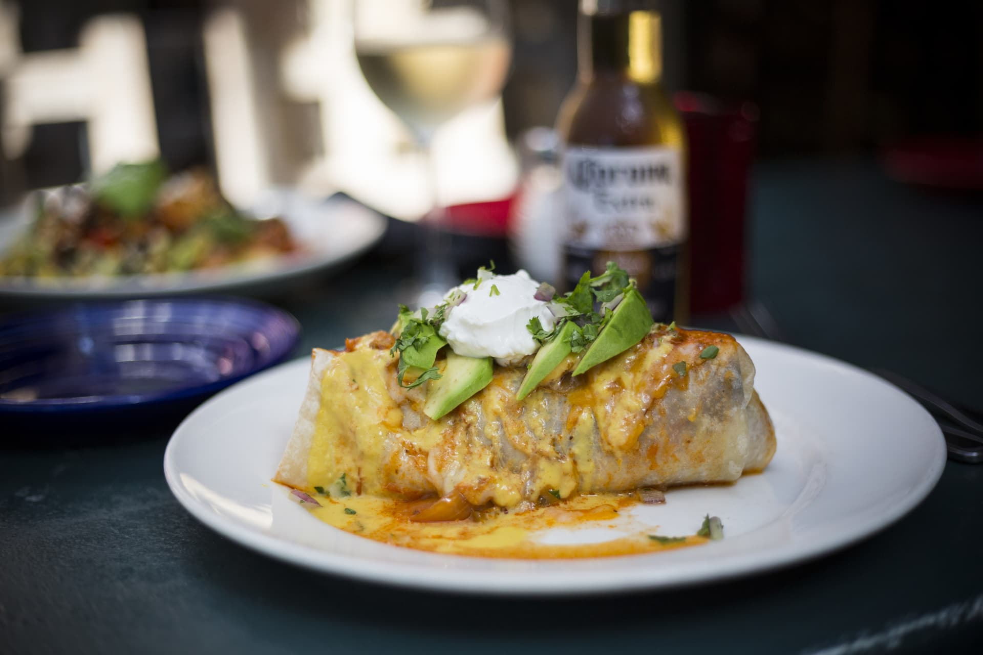 Fat Fish Burrito On Fire
