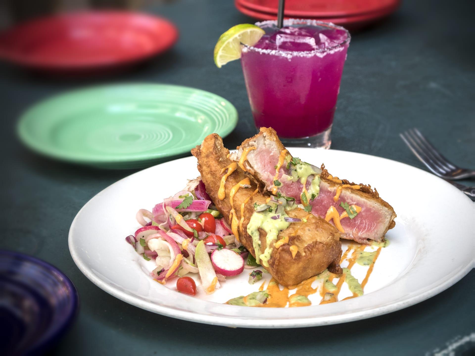 Chef Jose Villalva's Ahi Tuna Frita