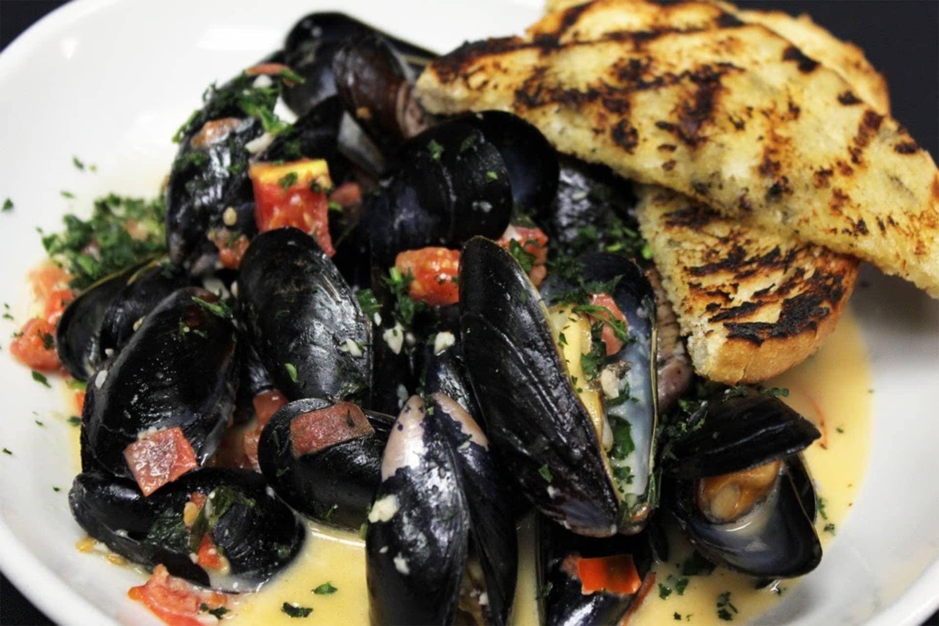 Sambuca Mussels